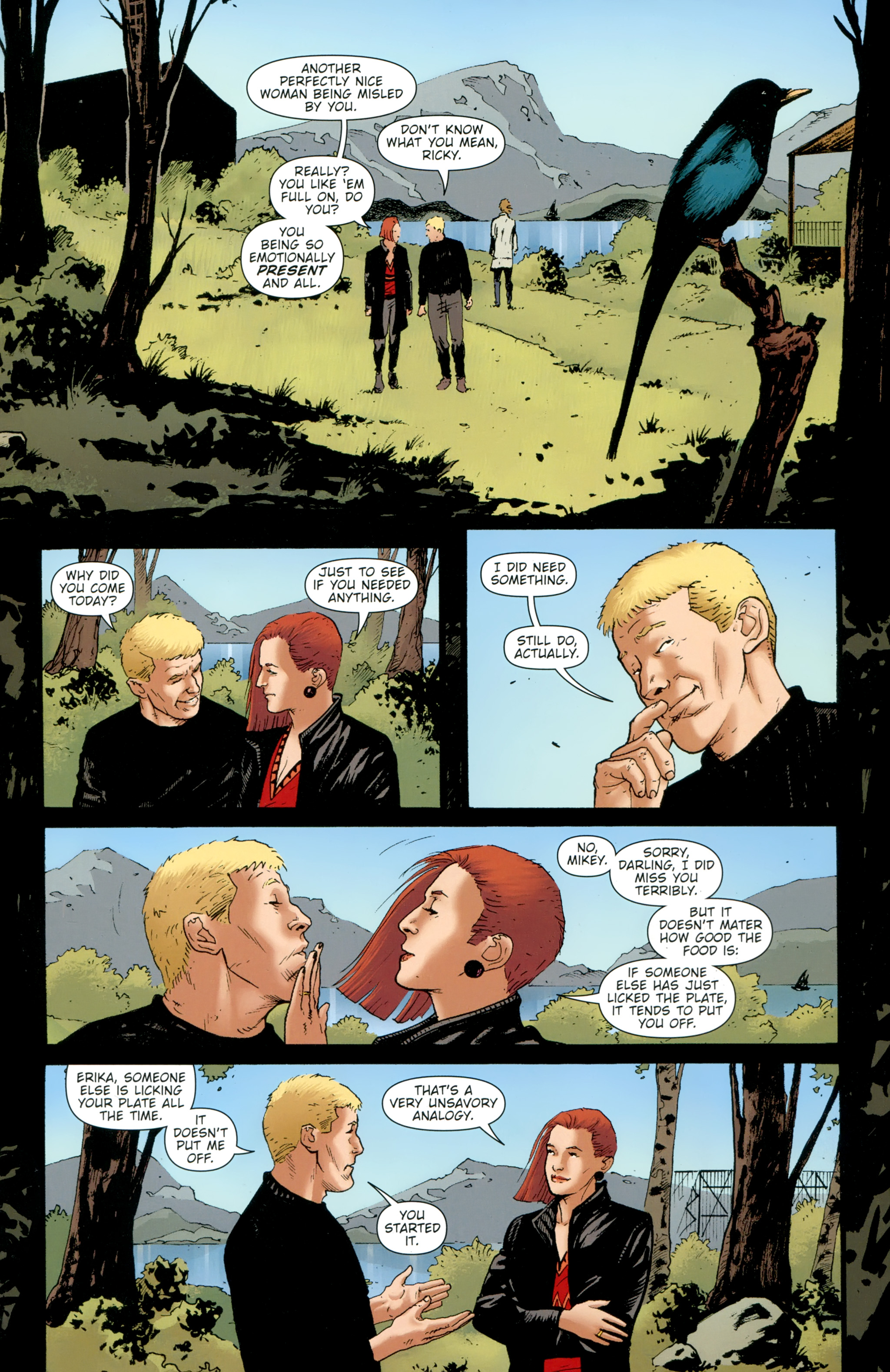 Read online The Girl With the Dragon Tattoo comic -  Issue # TPB 2 - 20