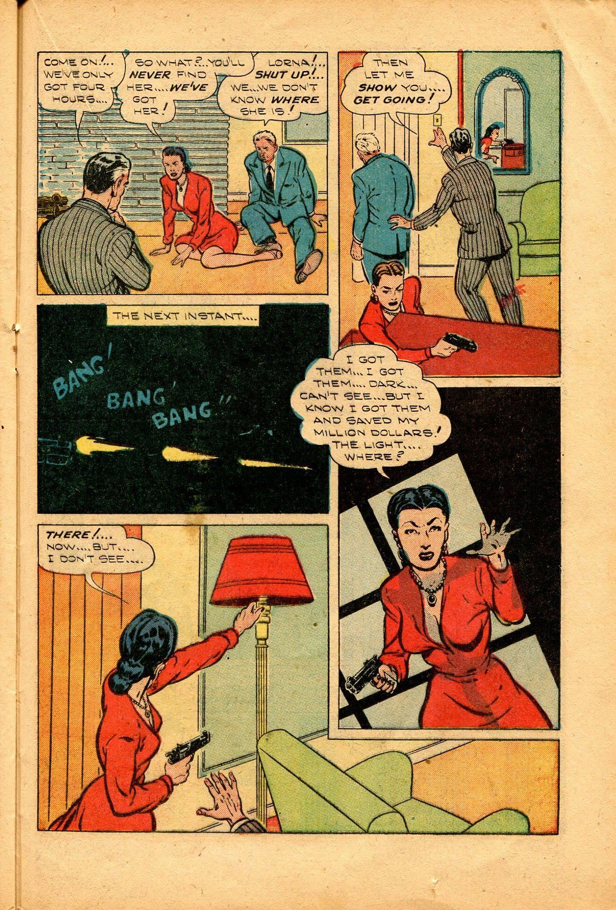 Read online Shadow Comics comic -  Issue #94 - 31
