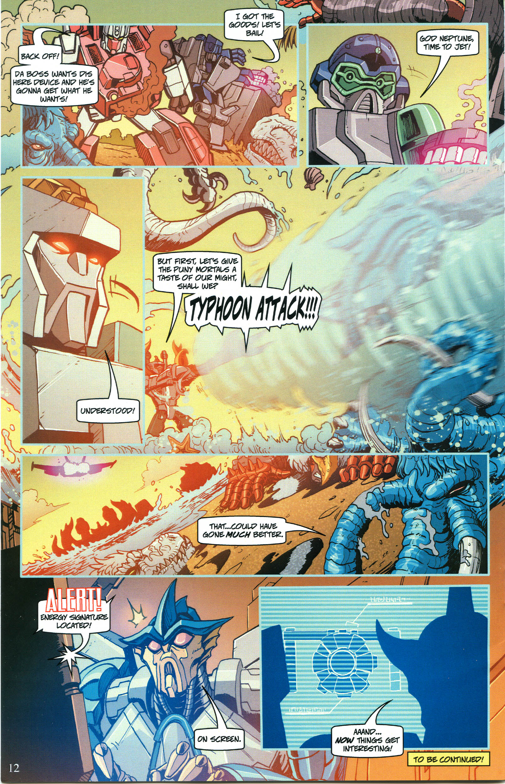 Read online Transformers: Collectors' Club comic -  Issue #52 - 12