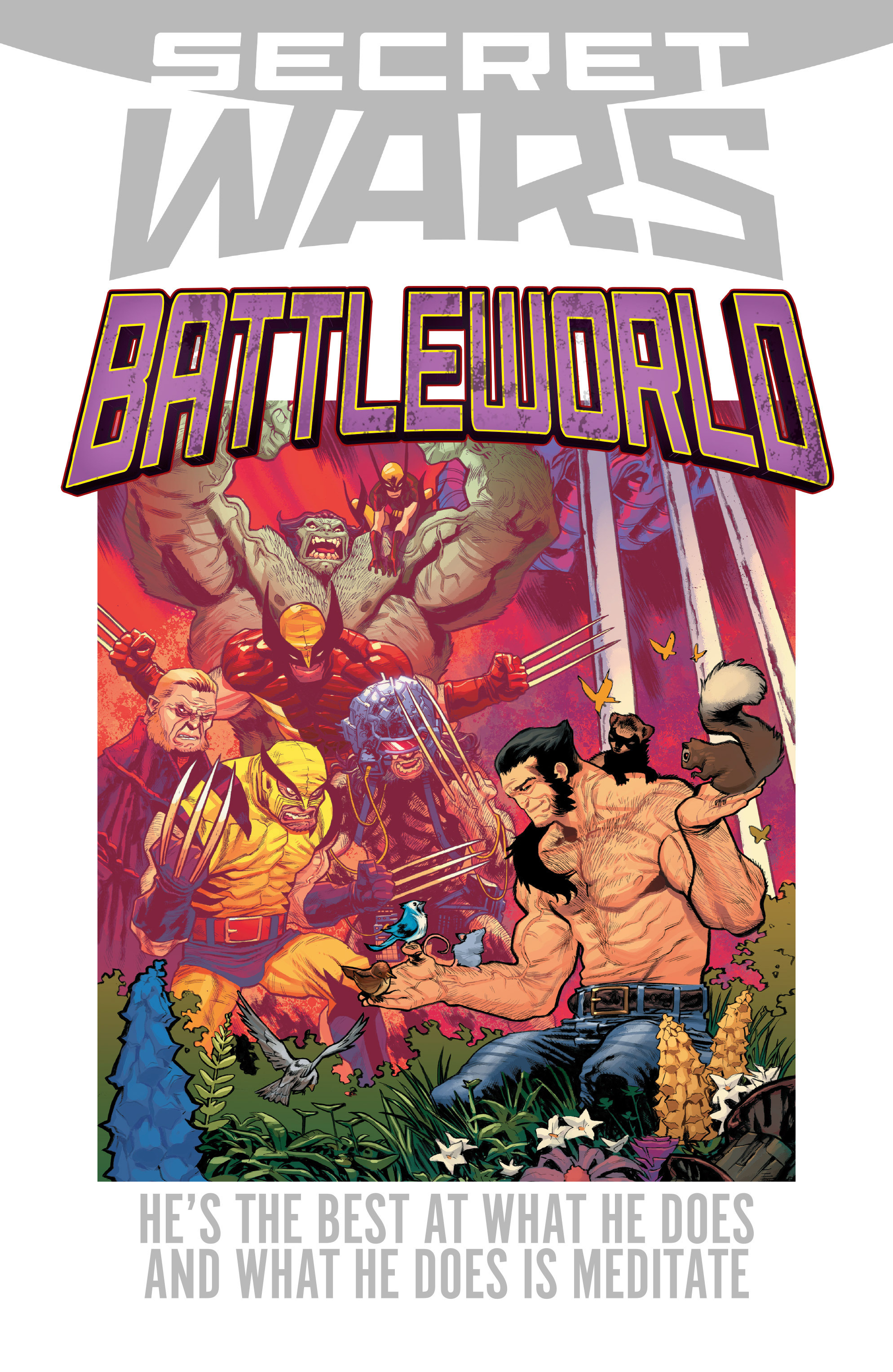 Read online Secret Wars Journal/Battleworld comic -  Issue # TPB - 165