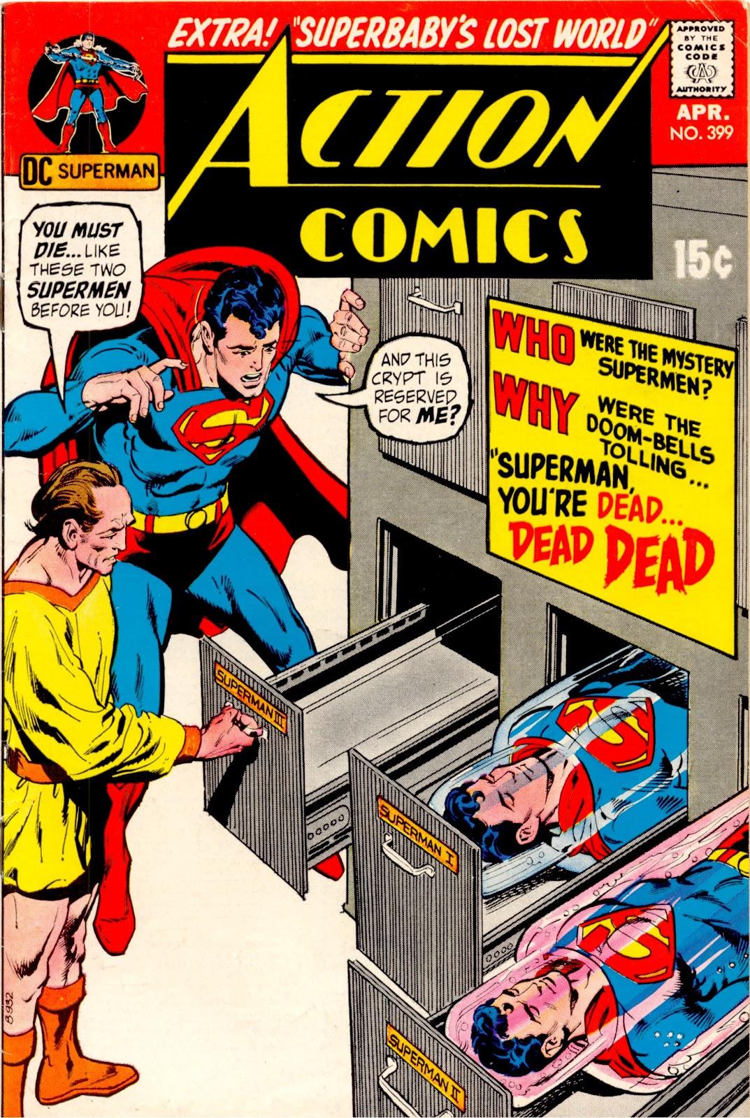 Action Comics (1938) 399 Page 1