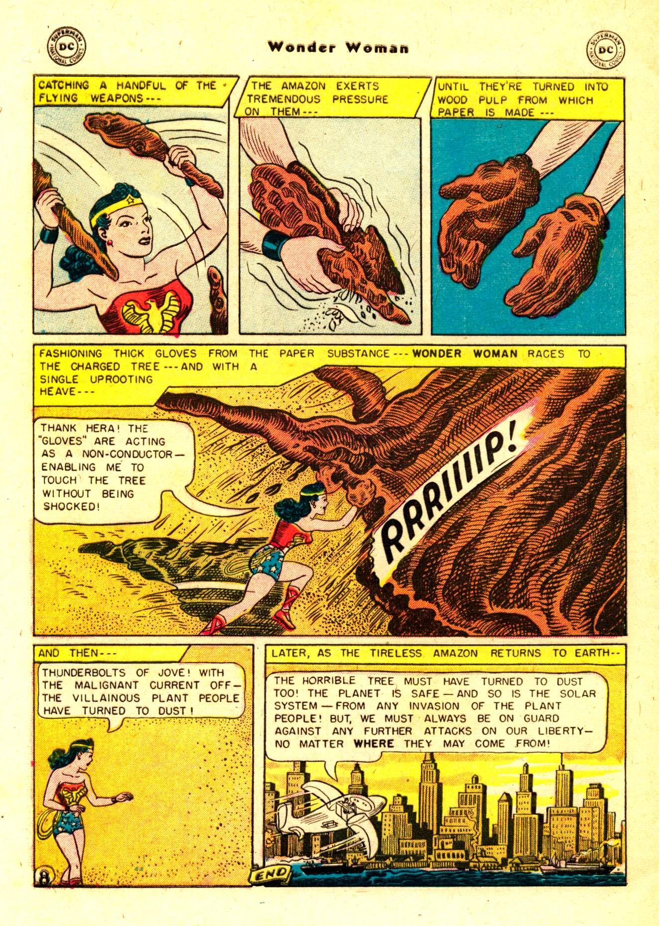 Read online Wonder Woman (1942) comic -  Issue #84 - 33