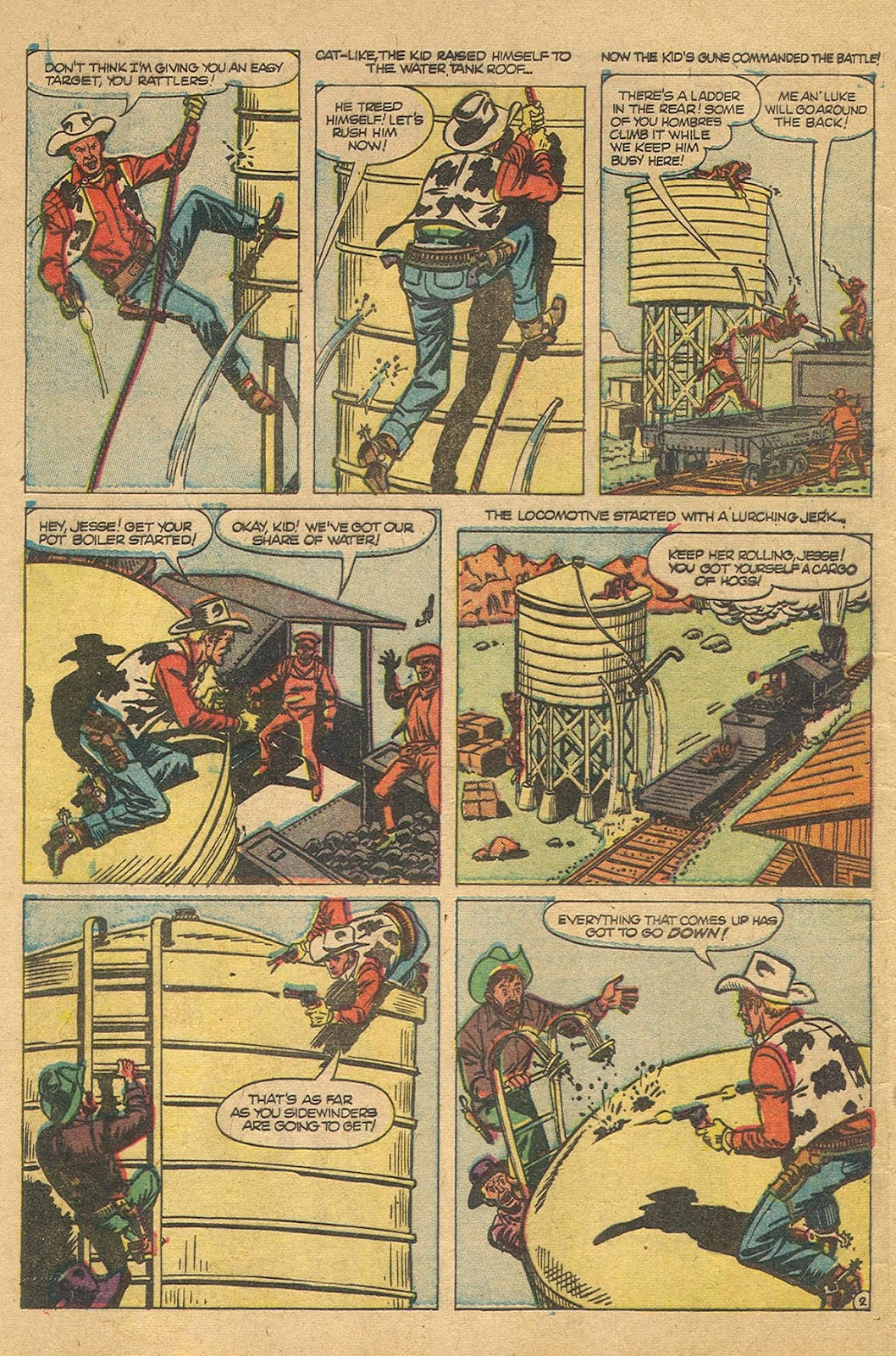 Gunsmoke Western issue 44 - Page 4