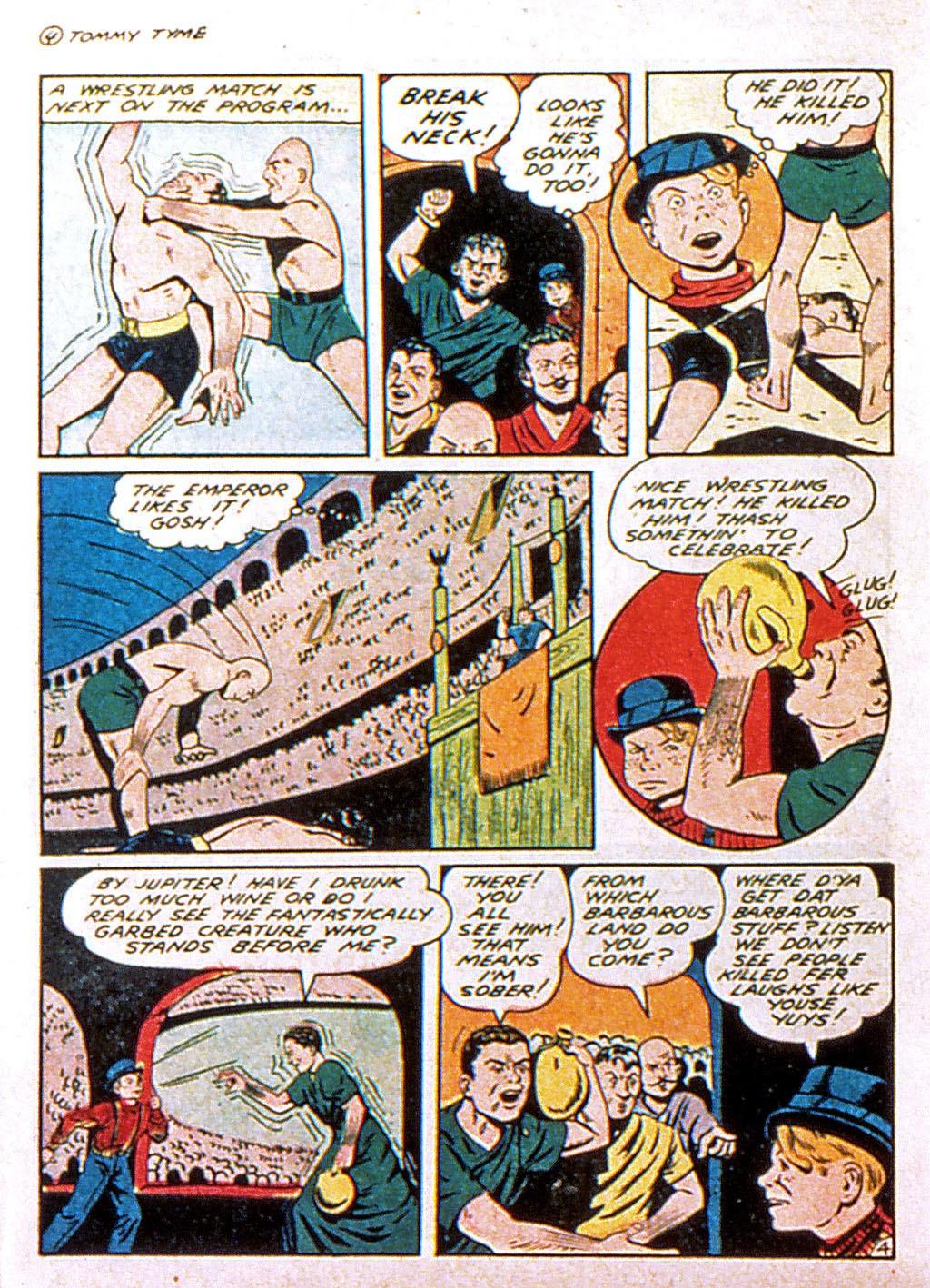 Read online Mystic Comics (1944) comic -  Issue #1 - 38