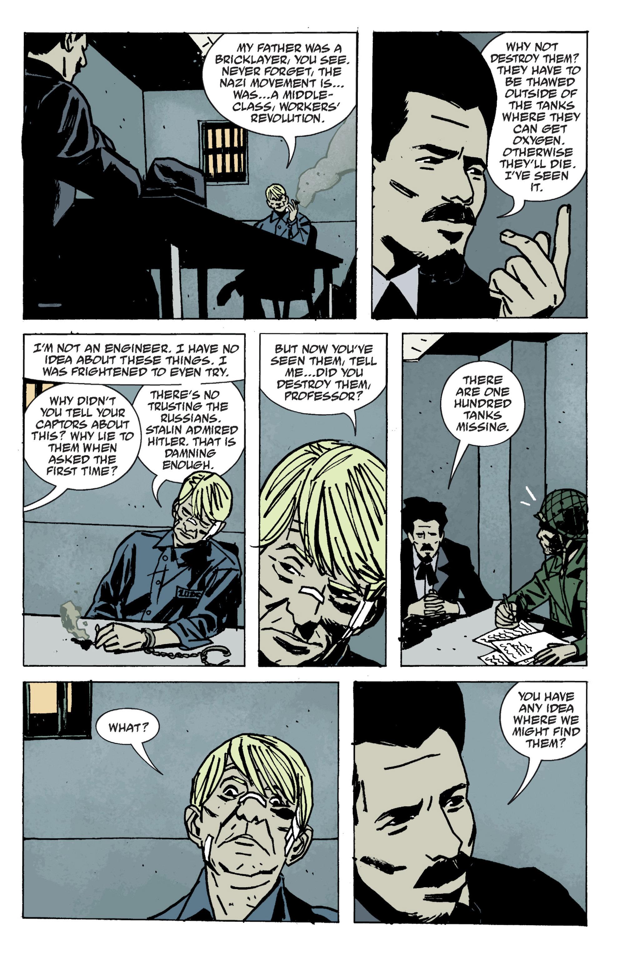 Read online B.P.R.D. (2003) comic -  Issue # TPB 9 - 99