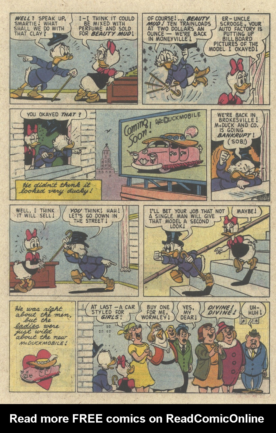 Read online Uncle Scrooge (1953) comic -  Issue #227 - 23