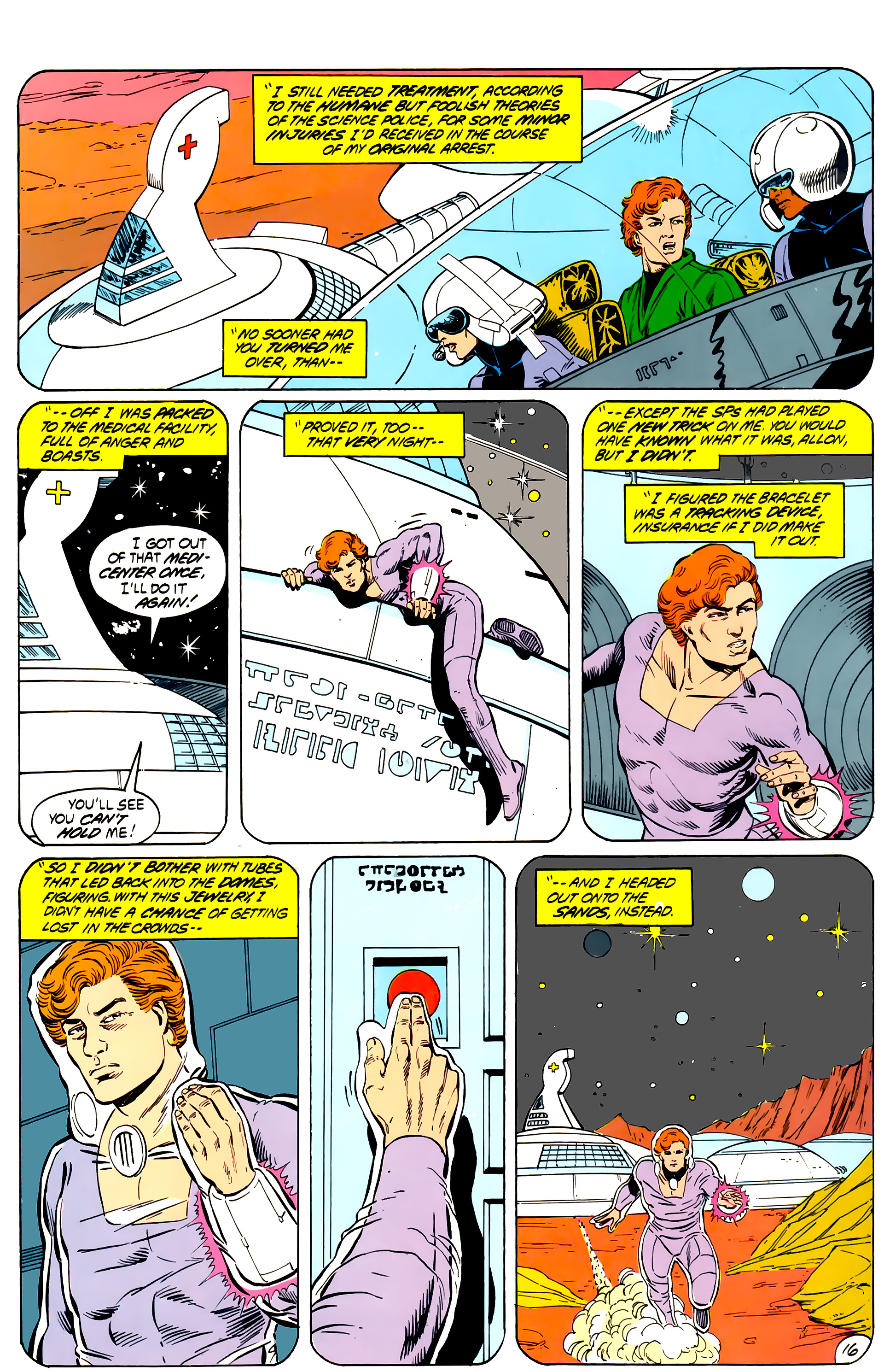 Legion of Super-Heroes (1984) _Annual_4 Page 16