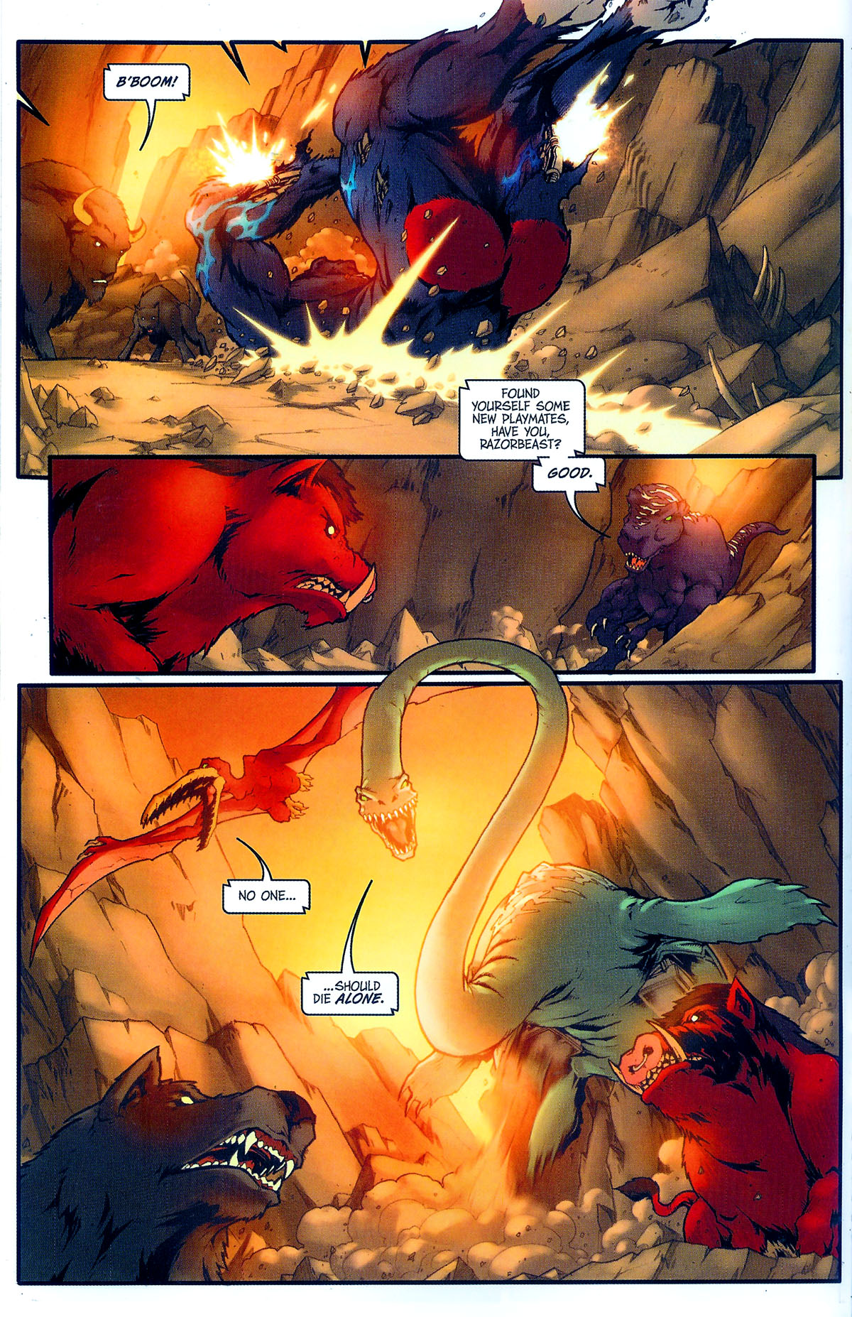 Read online Transformers, Beast Wars: The Gathering comic -  Issue #2 - 15
