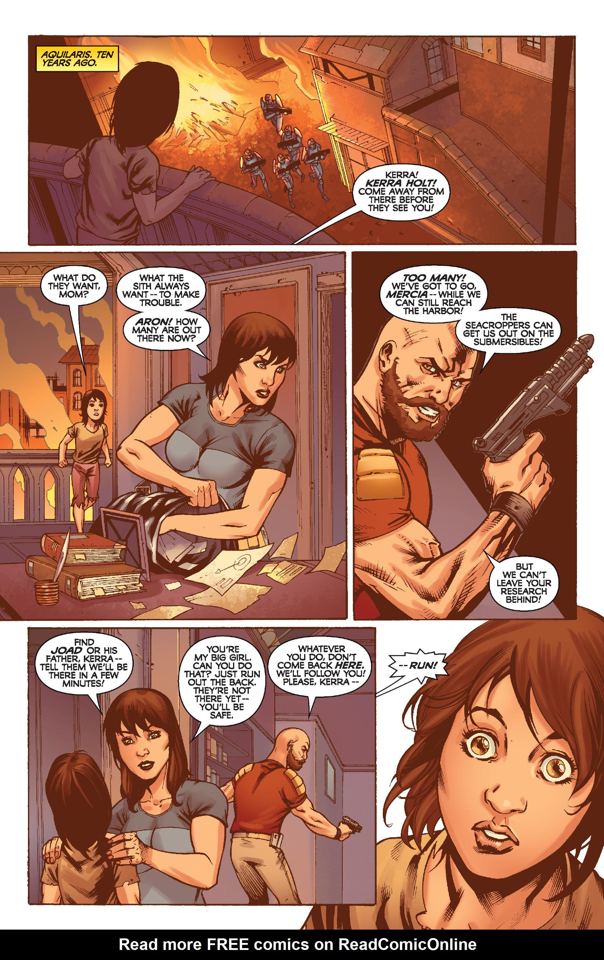 Read online Star Wars: Knight Errant - Escape comic -  Issue #2 - 3