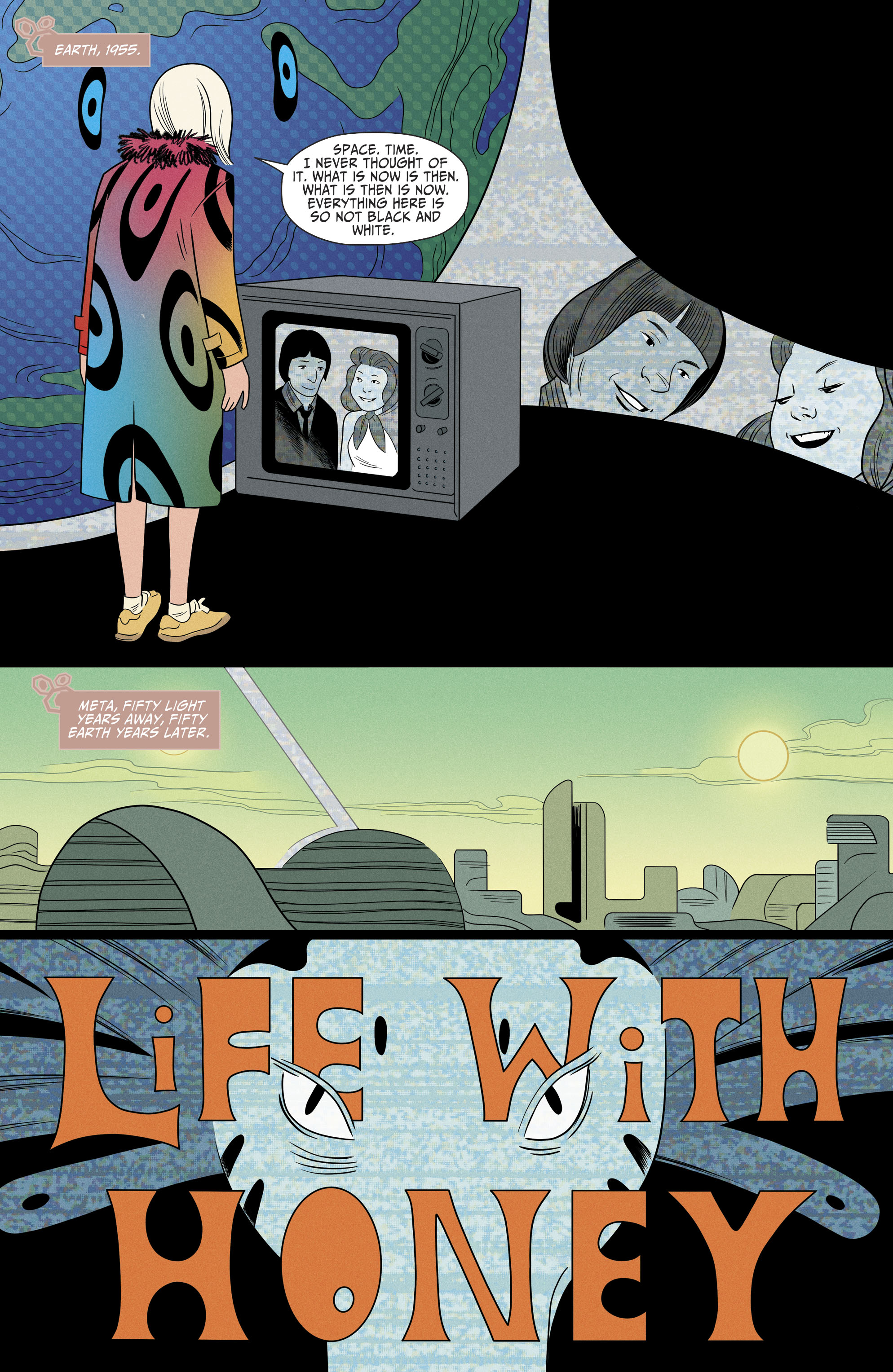 Read online Shade, the Changing Girl comic -  Issue #9 - 9