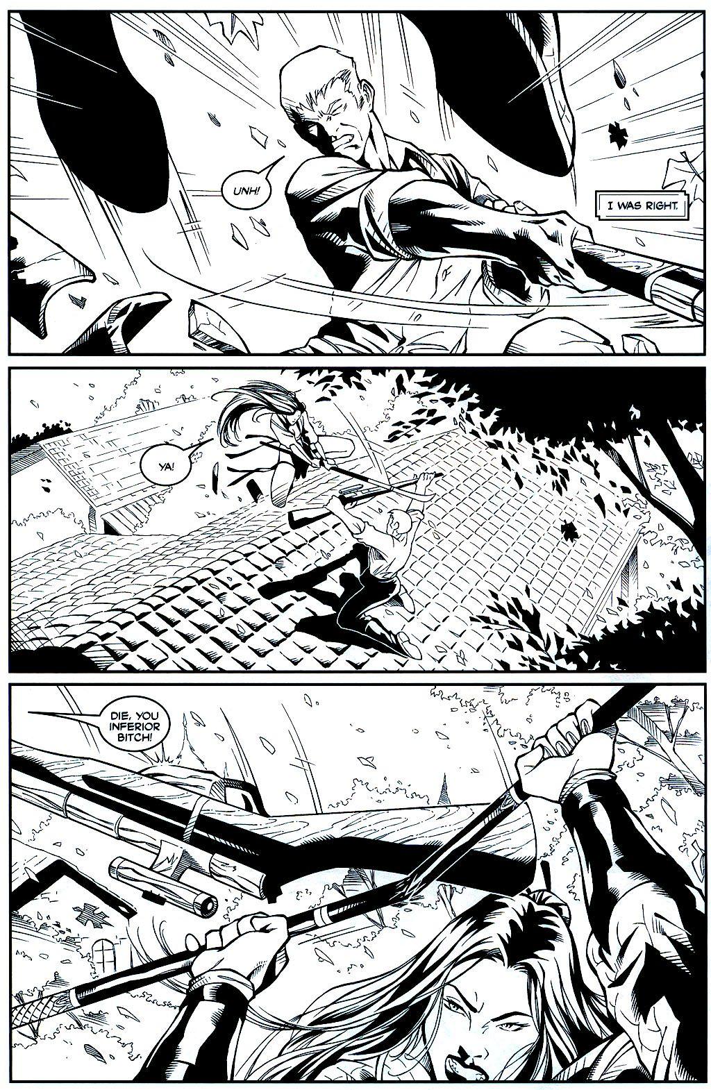 Read online Shi: Sempo comic -  Issue #1 - 9