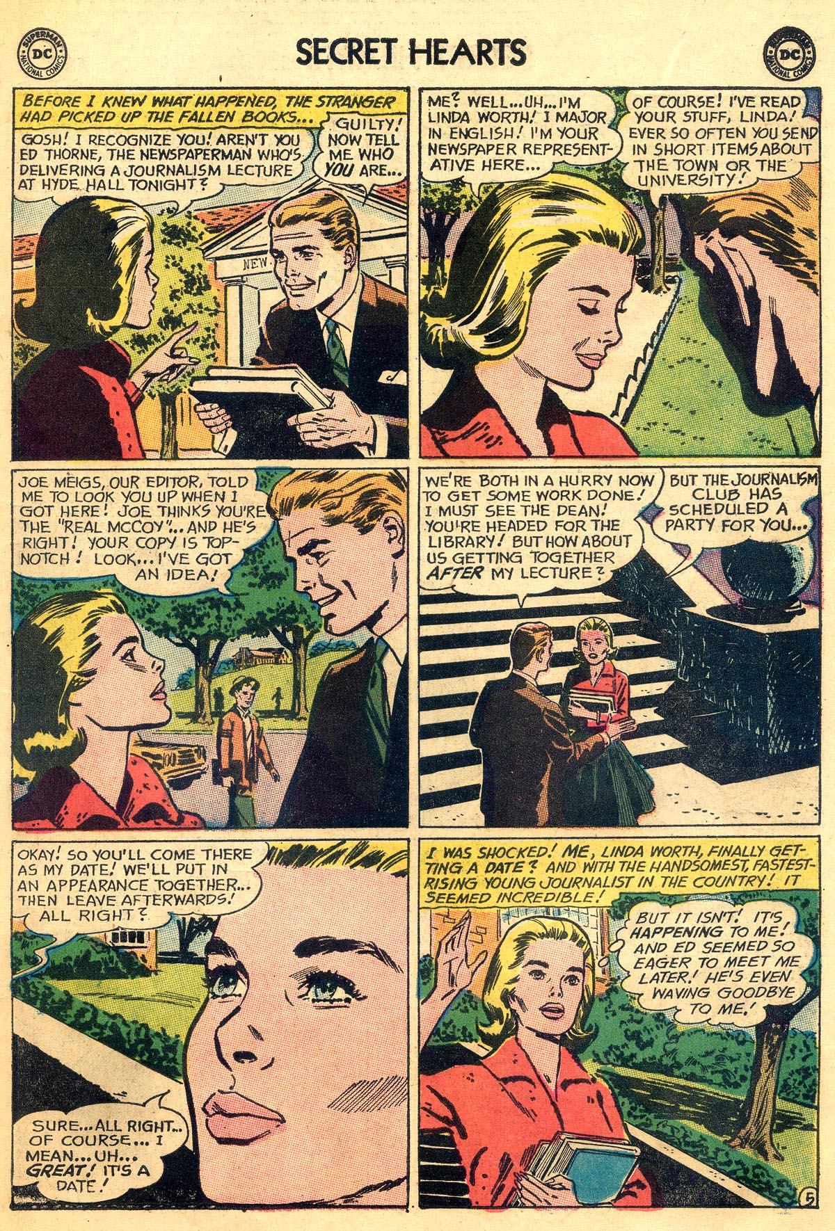 Read online Secret Hearts comic -  Issue #93 - 7