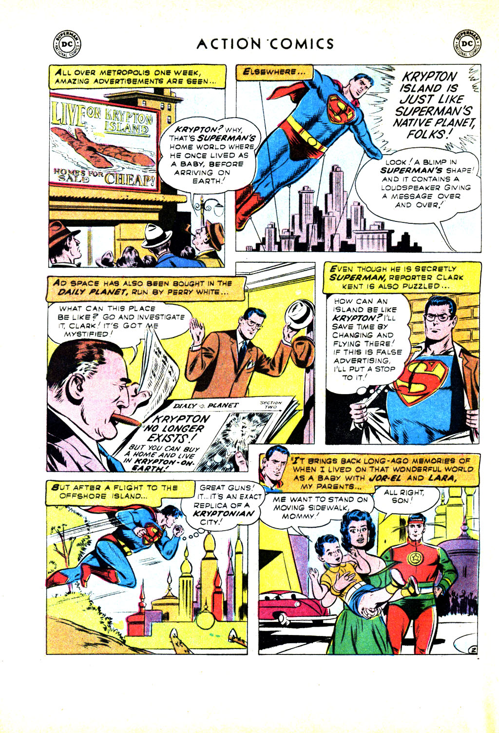 Read online Action Comics (1938) comic -  Issue #246 - 4