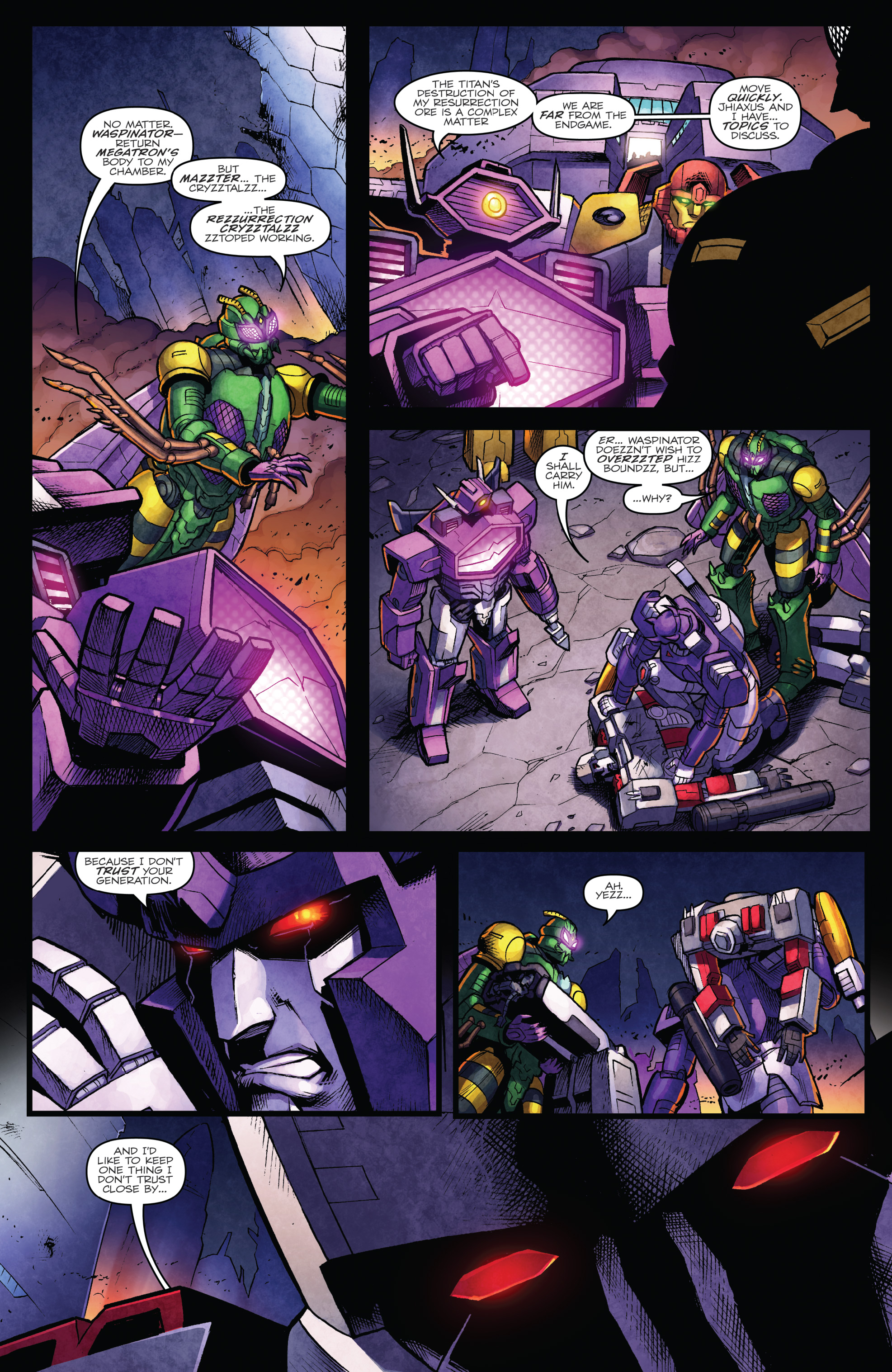 Read online The Transformers: Dark Cybertron Finale comic -  Issue # Full - 16