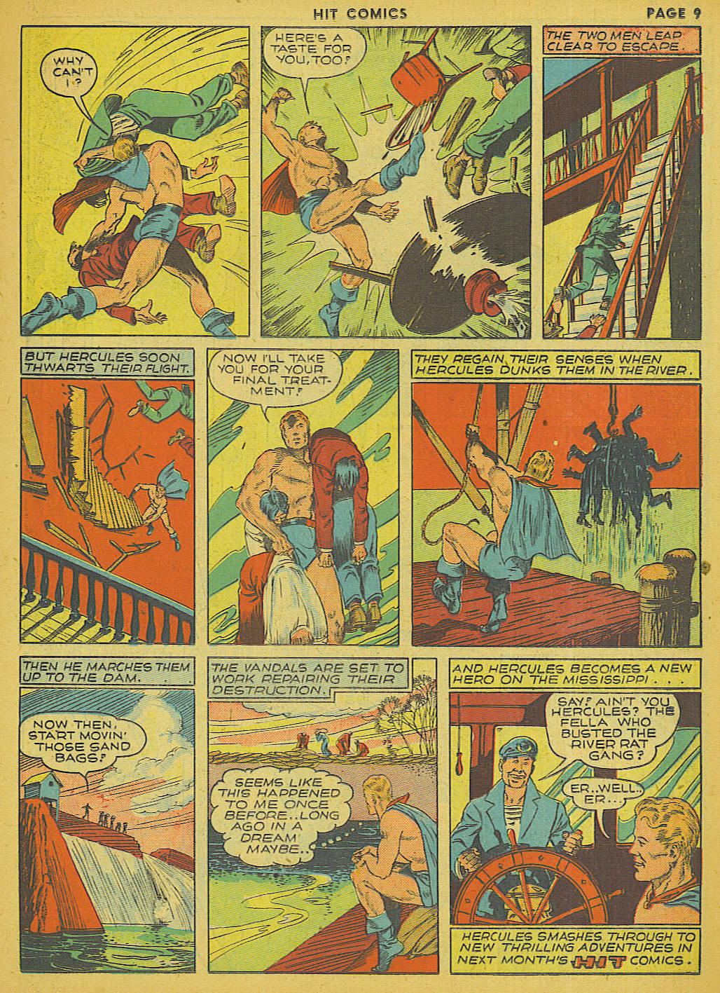 Read online Hit Comics comic -  Issue #13 - 11