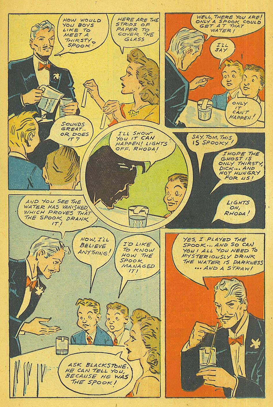 Read online Super-Magician Comics comic -  Issue #39 - 18