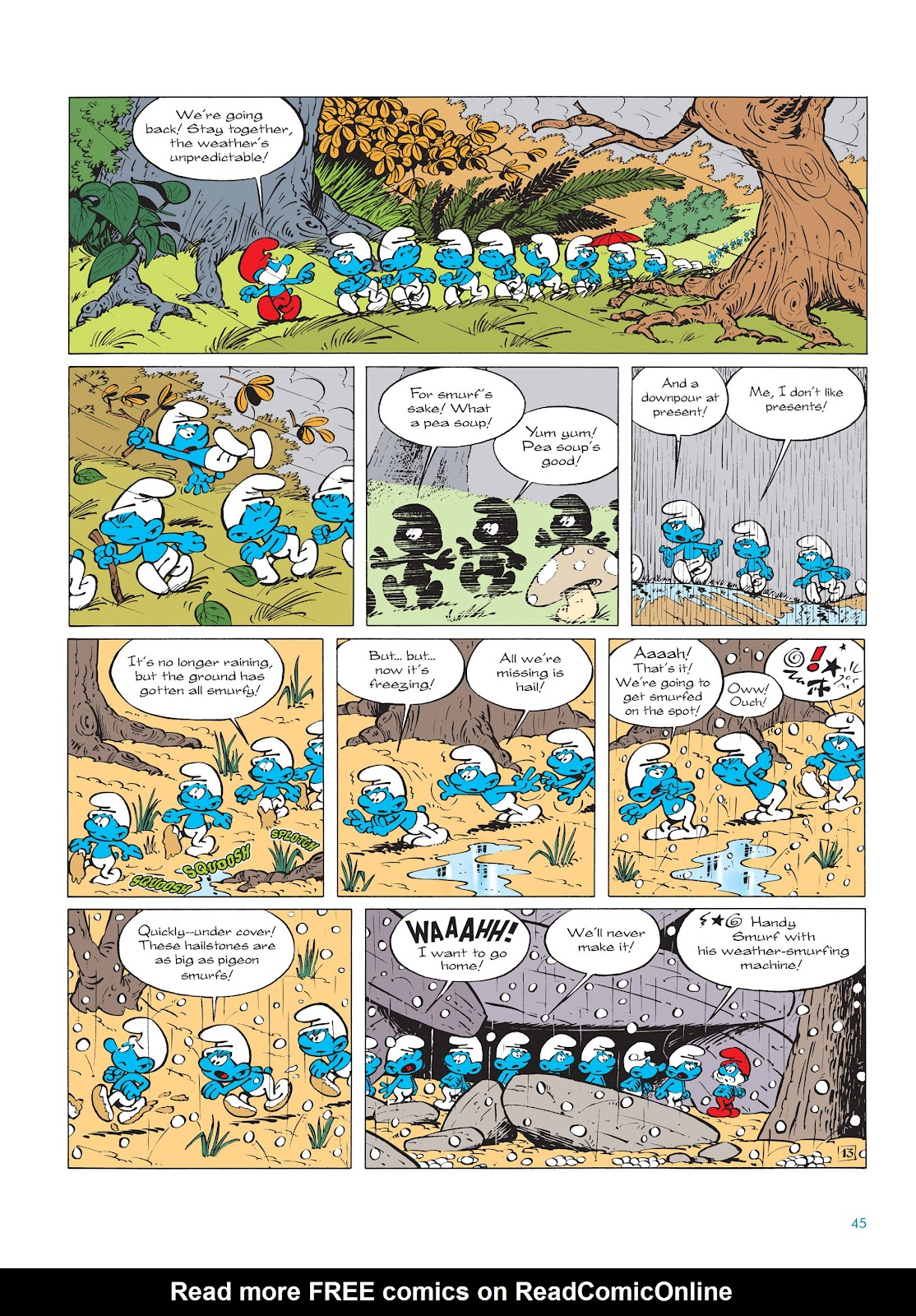 Read online The Smurfs comic -  Issue #14 - 46