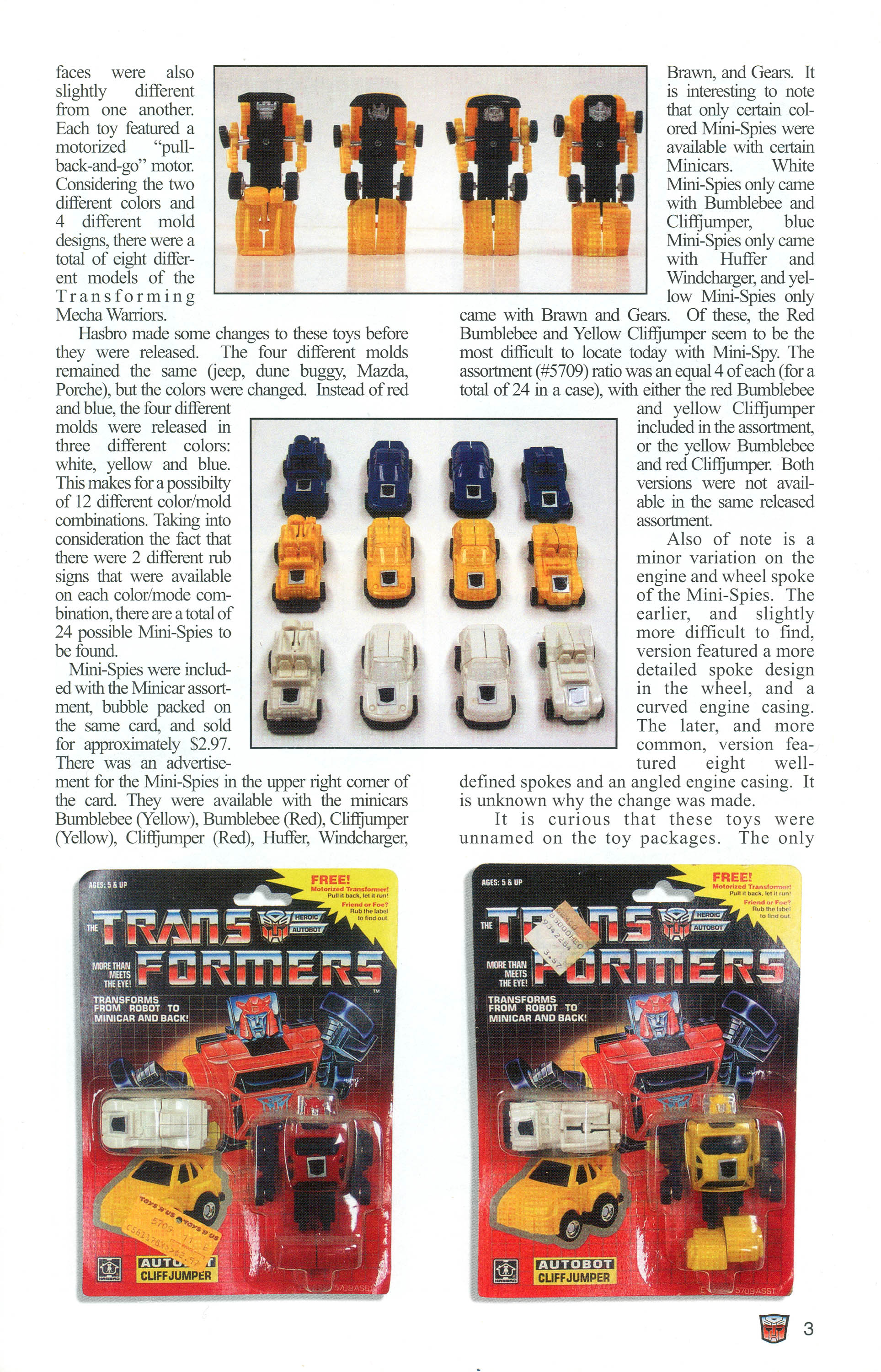Read online Transformers: Collectors' Club comic -  Issue #1 - 3