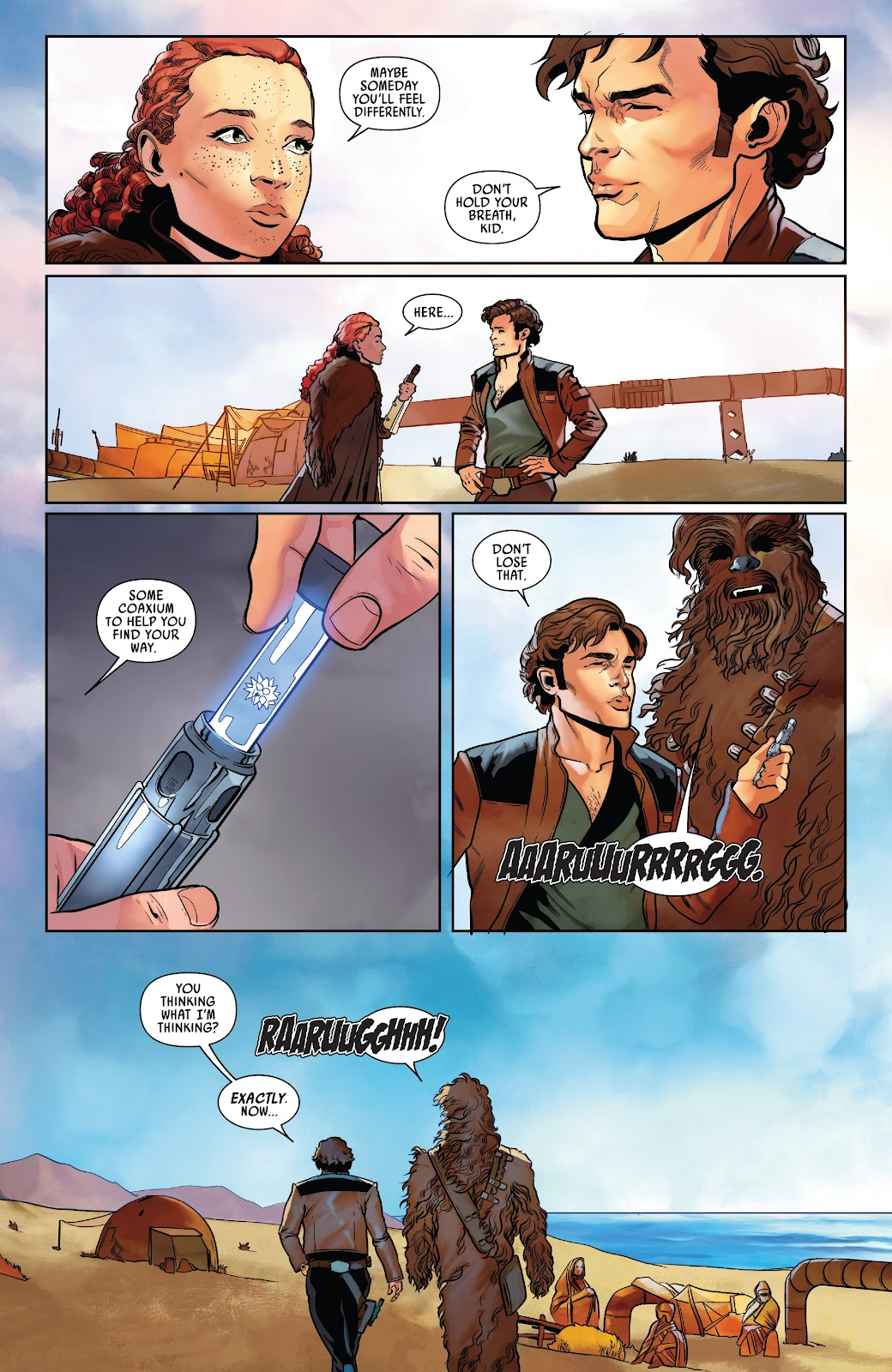 Read online Solo: A Star Wars Story Adaptation comic -  Issue #7 - 15