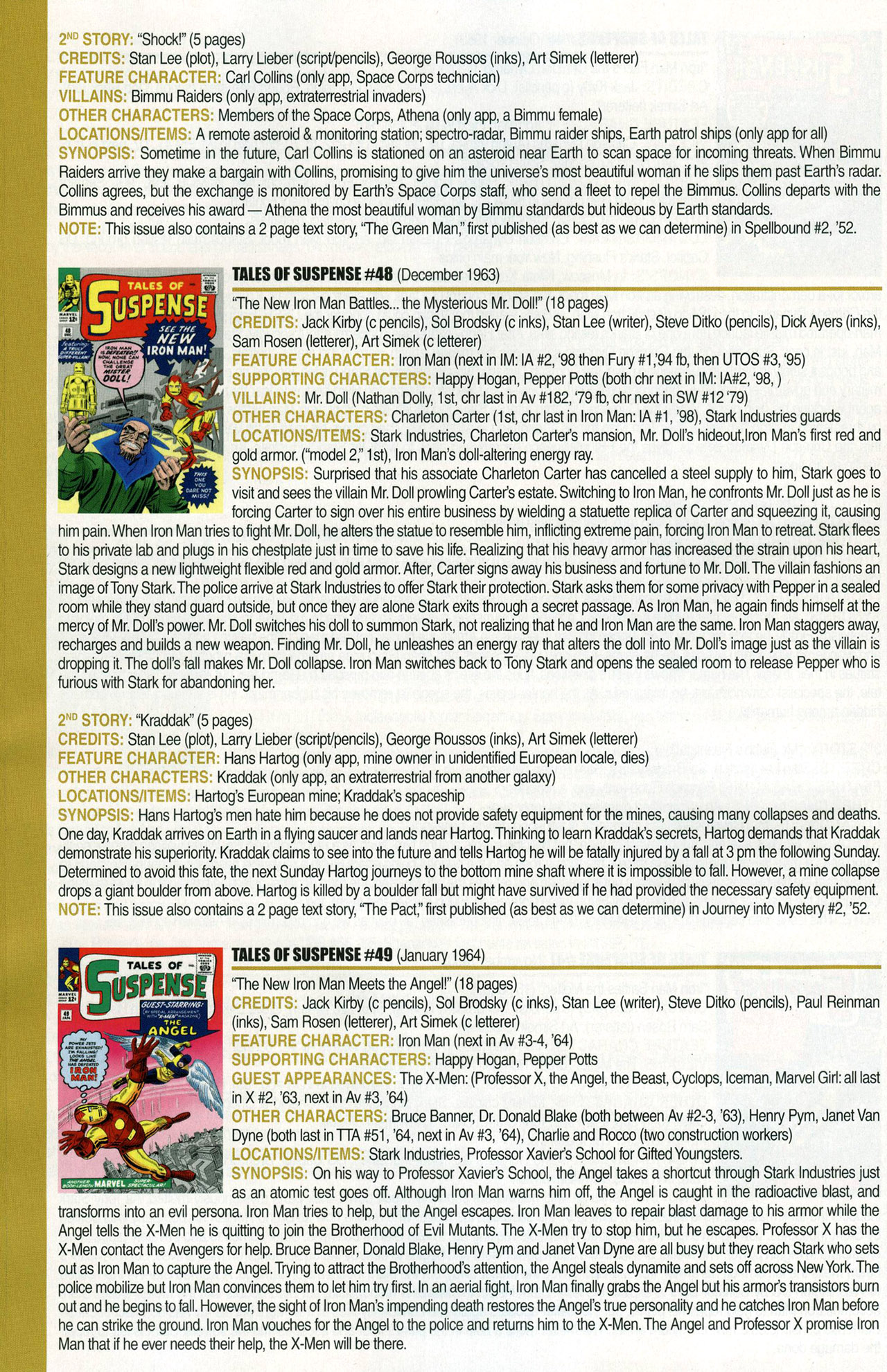 Read online Official Index to the Marvel Universe comic -  Issue #1 - 30