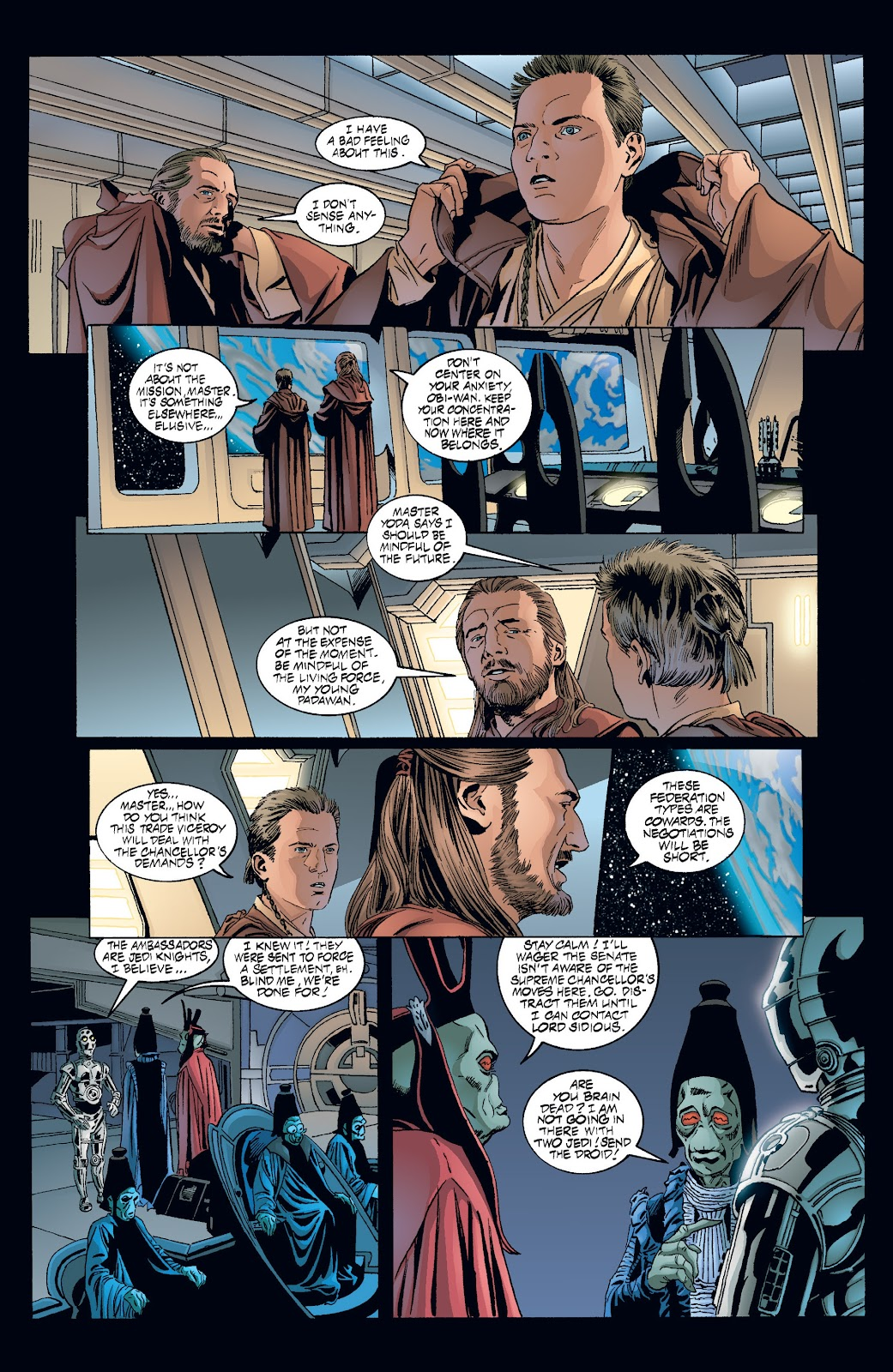 Read online Star Wars Legends: Rise of the Sith - Epic Collection comic -  Issue # TPB 2 (Part 3) - 41