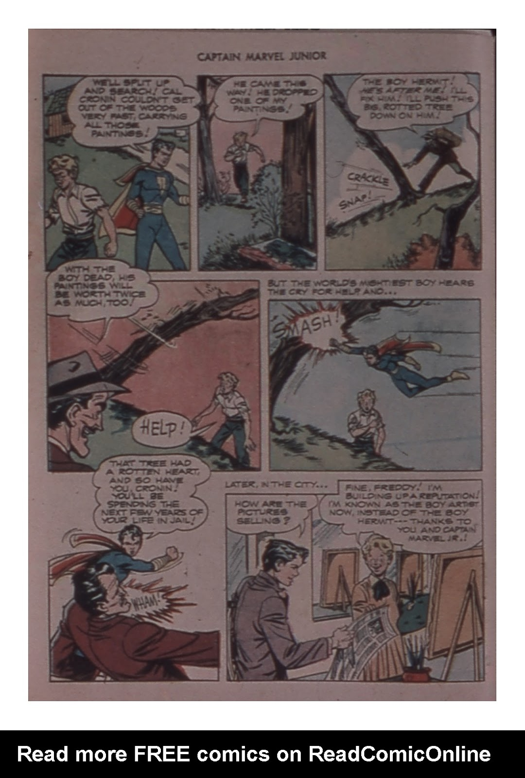 Captain Marvel, Jr. issue 59 - Page 48