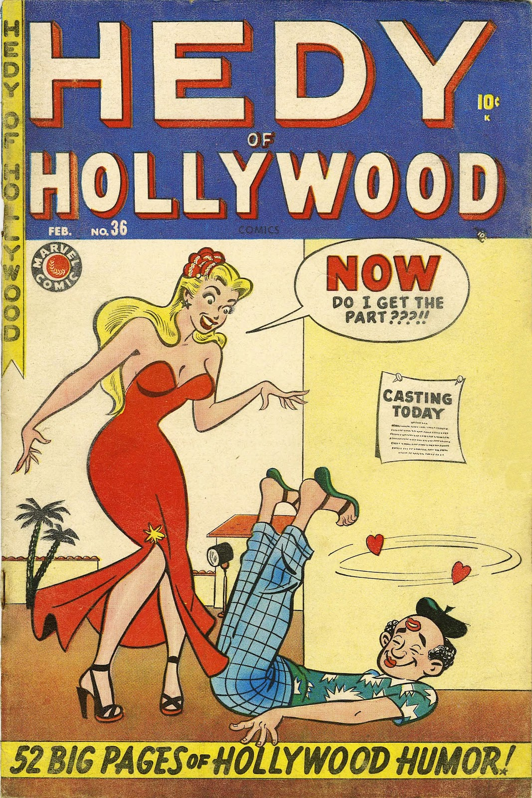 Hedy Of Hollywood Comics issue 36 - Page 1