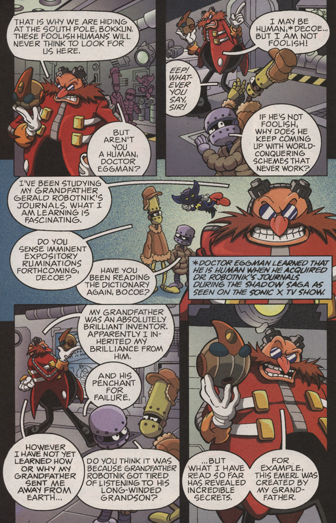 Read online Sonic X comic -  Issue #10 - 12