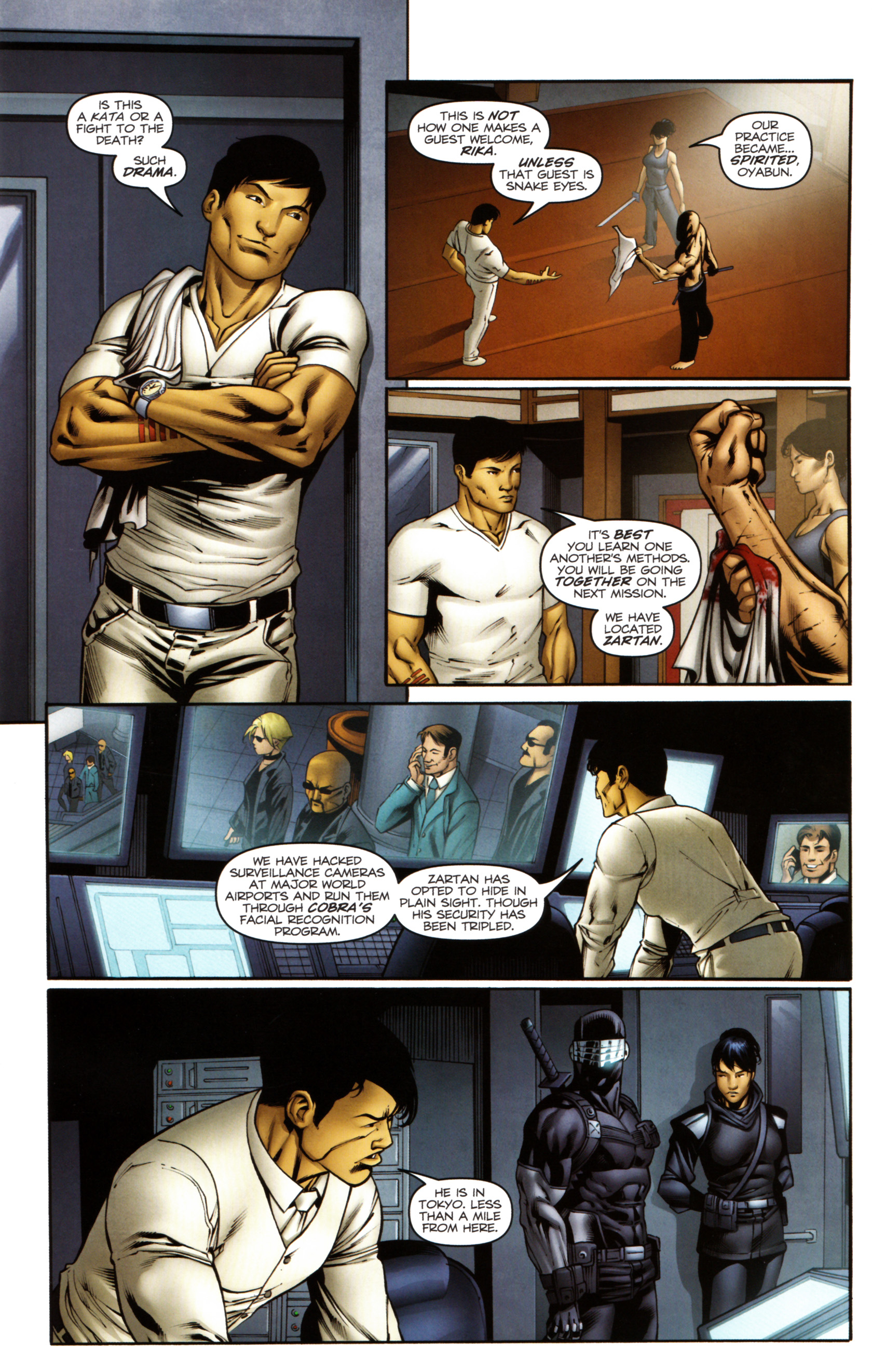 Read online Snake Eyes and Storm Shadow comic -  Issue #14 - 10