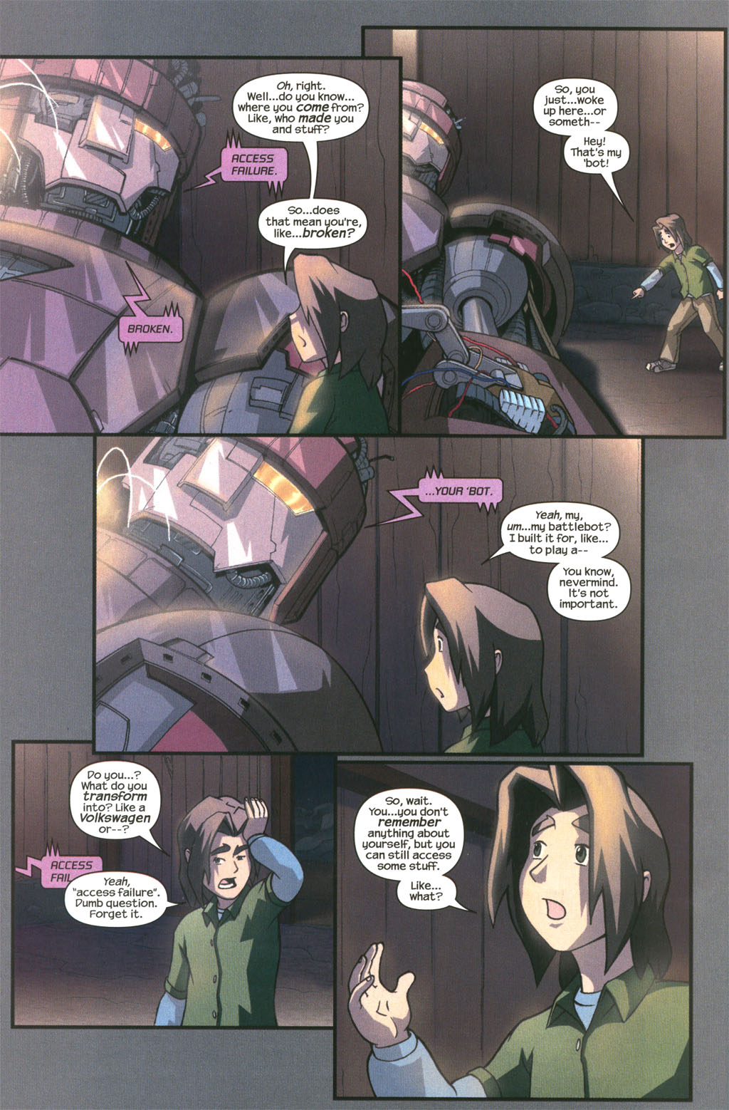 Read online Sentinel comic -  Issue #2 - 20