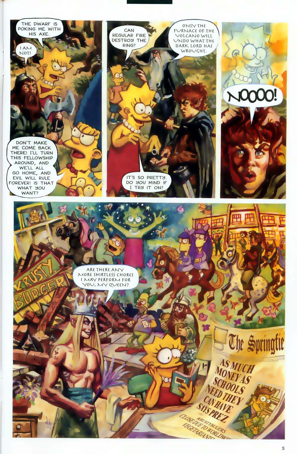 Read online Treehouse of Horror comic -  Issue #9 - 7