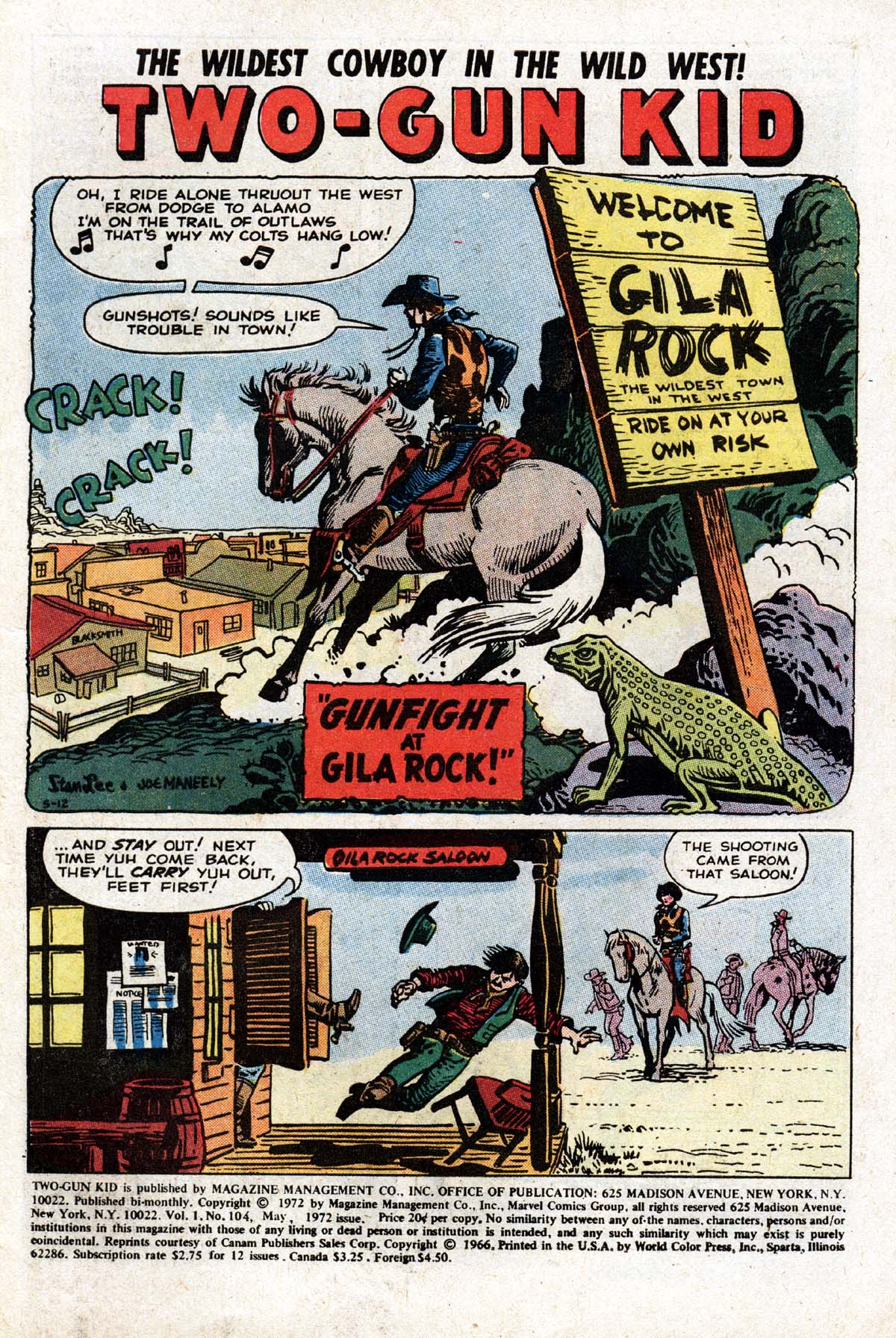 Read online Two-Gun Kid comic -  Issue #104 - 3