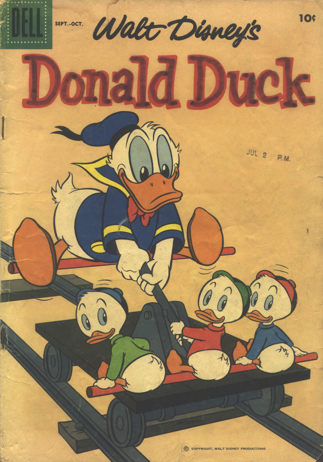 Walt Disney's Donald Duck (1952) issue 61 - Page 1