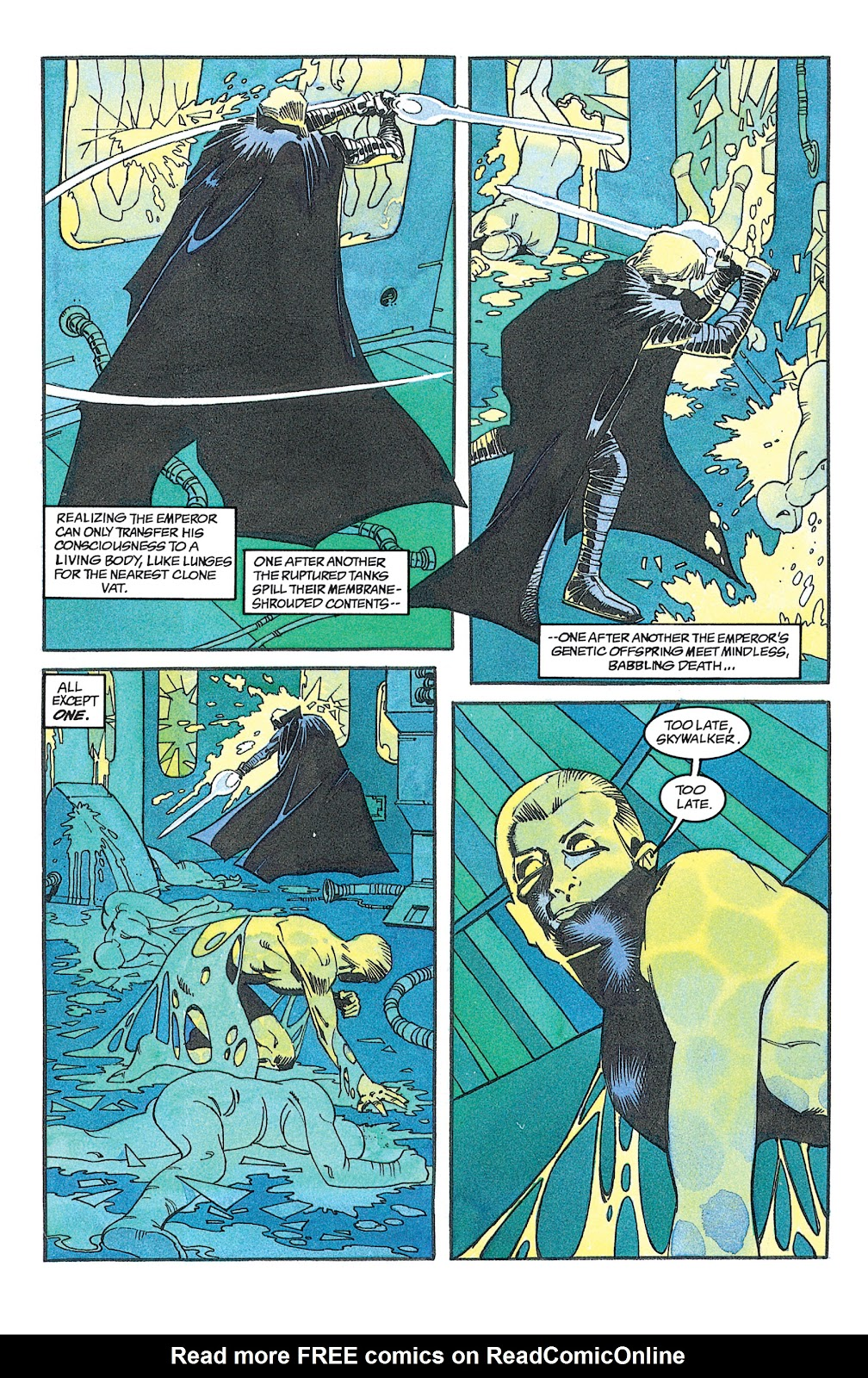 Read online Star Wars: Dark Empire Trilogy comic -  Issue # TPB (Part 2) - 27