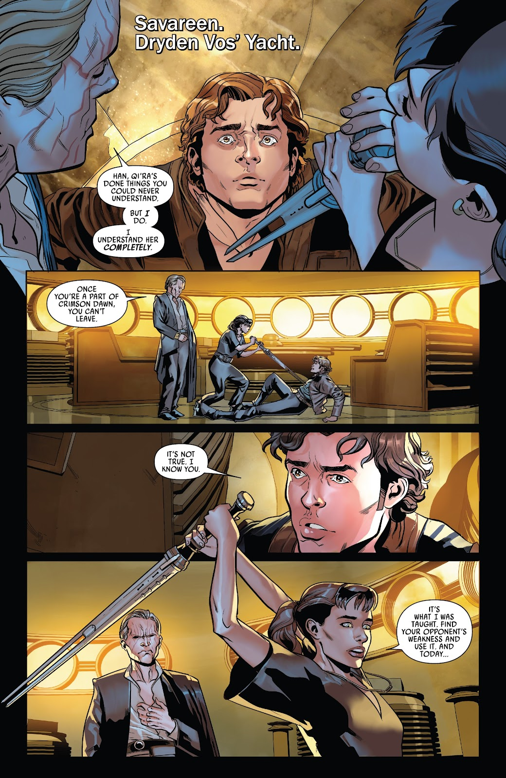 Read online Solo: A Star Wars Story Adaptation comic -  Issue #7 - 3