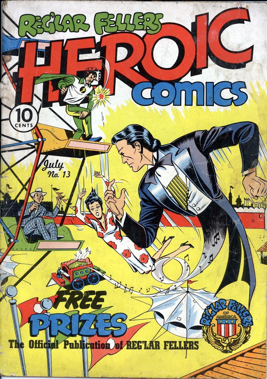 Reglar Fellers Heroic Comics issue 13 - Page 1