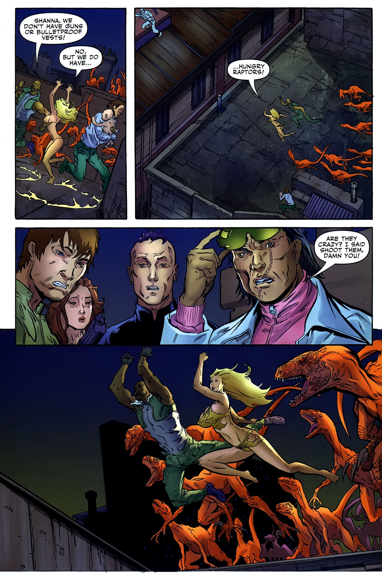 Read online Shanna the She-Devil: Survival of the Fittest comic -  Issue #4 - 5