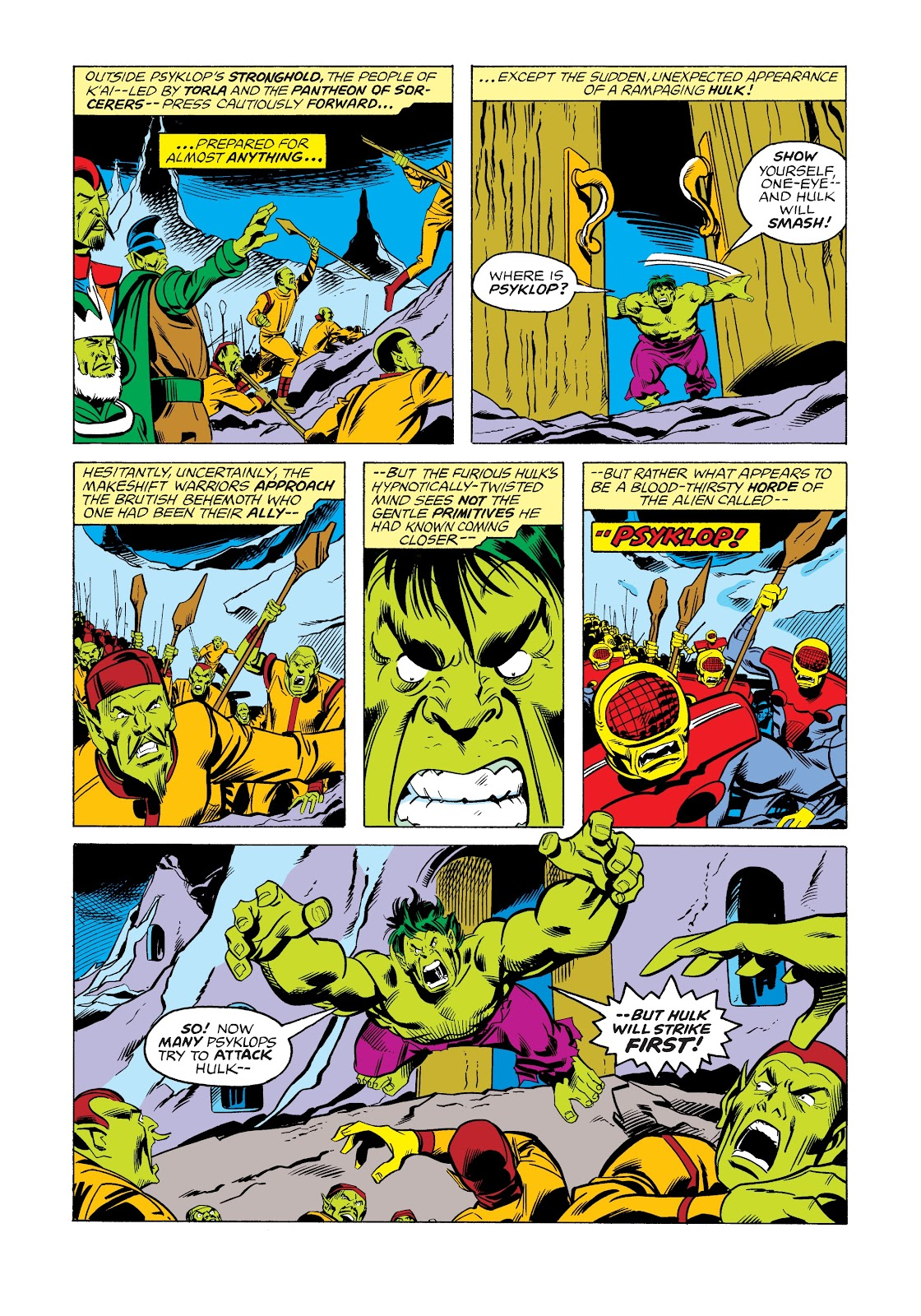 Read online Marvel Masterworks: The Incredible Hulk comic -  Issue # TPB 12 (Part 2) - 65