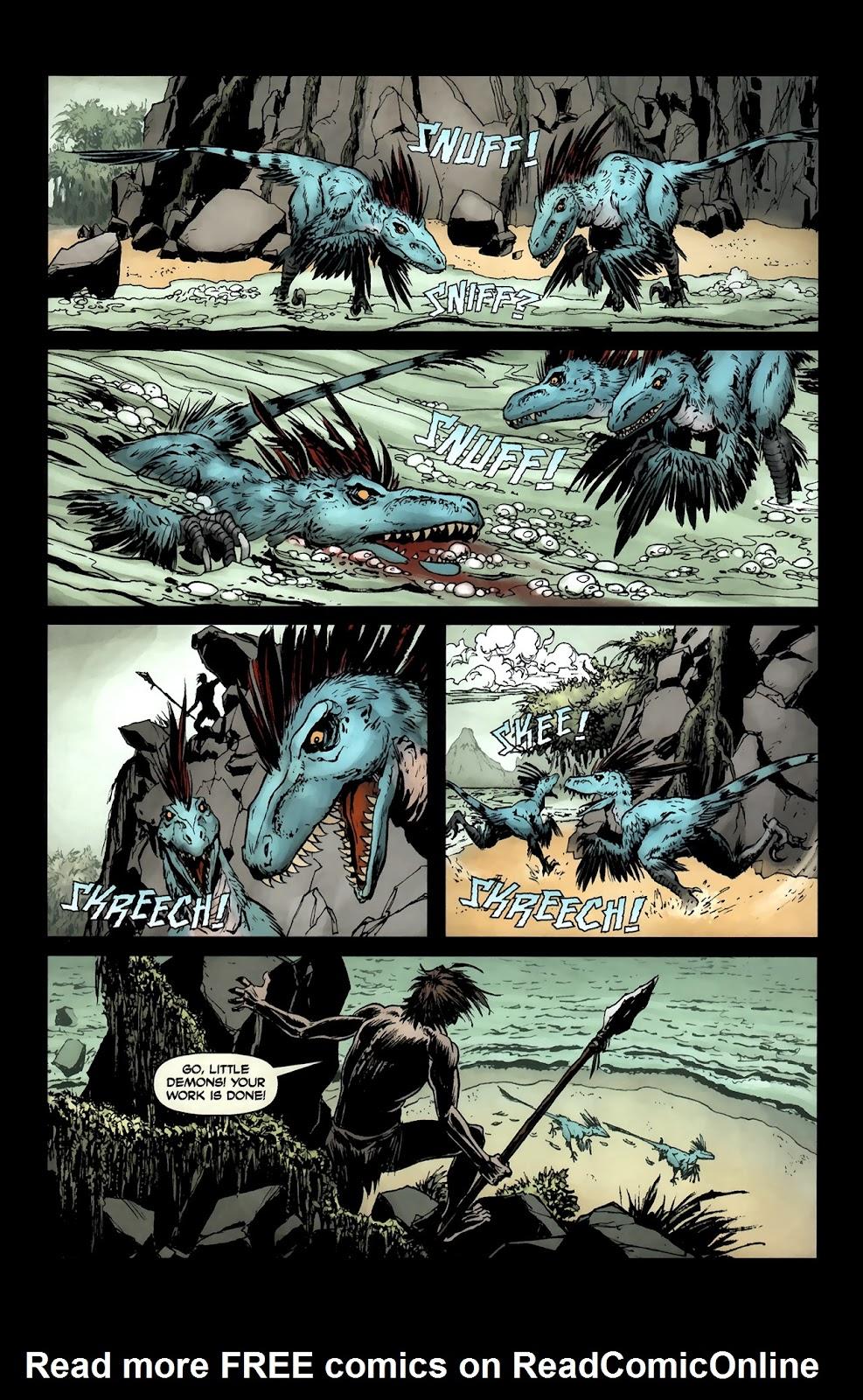 Read online Tyrannosaurus Rex comic -  Issue # Full - 21