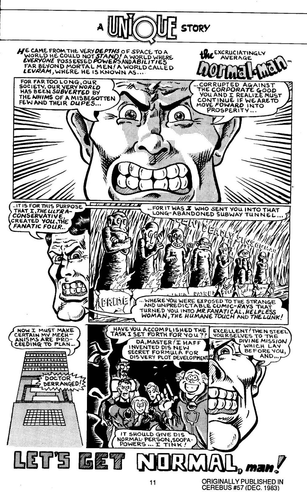 Read online Normalman - The Novel comic -  Issue # TPB (Part 1) - 16