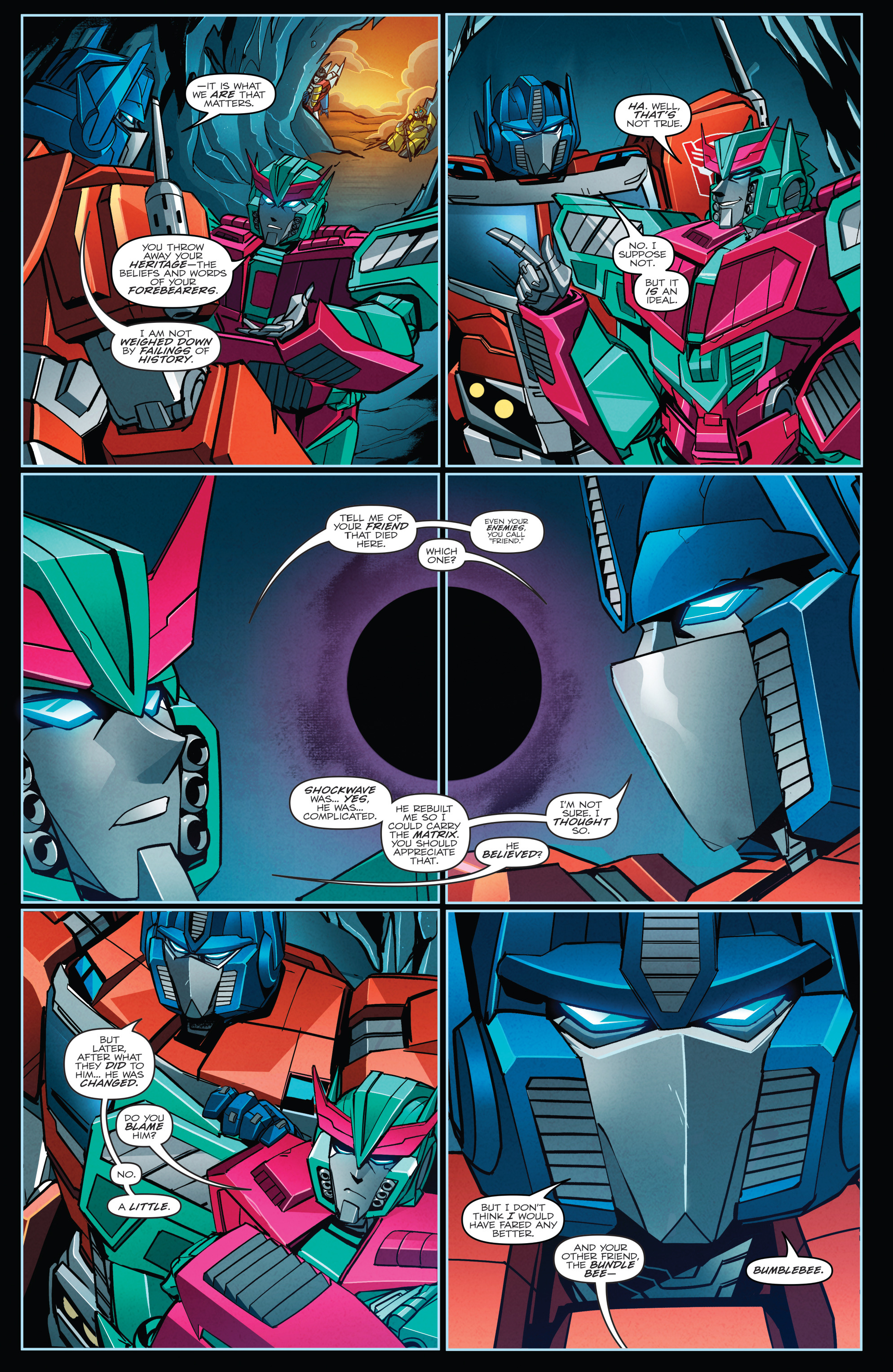 Read online Transformers Annual comic -  Issue # Full - 6