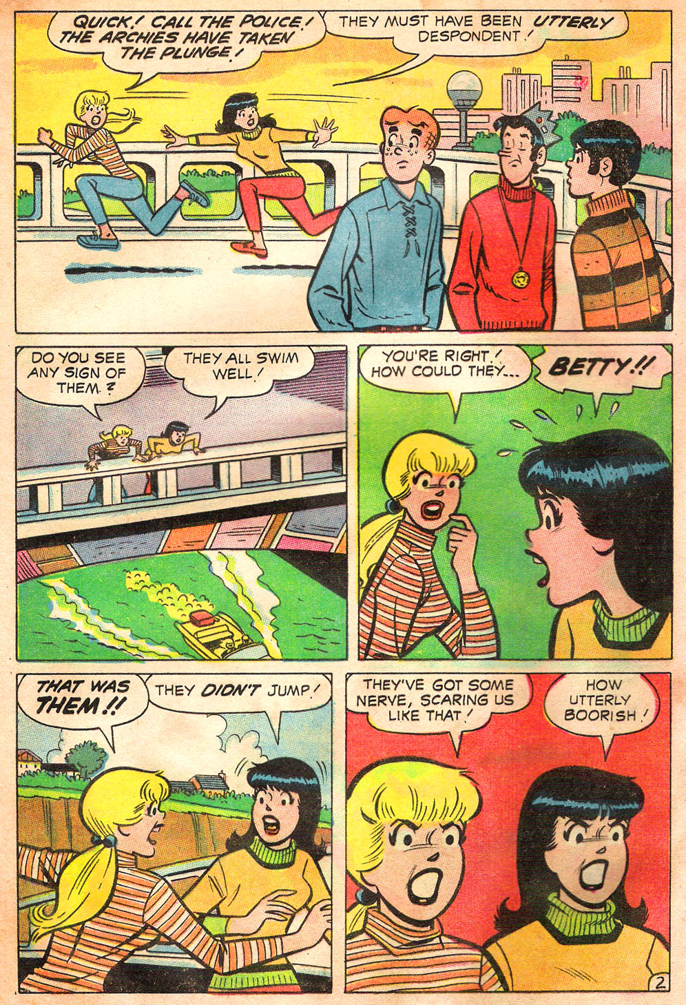 Read online Archie's Girls Betty and Veronica comic -  Issue #157 - 4