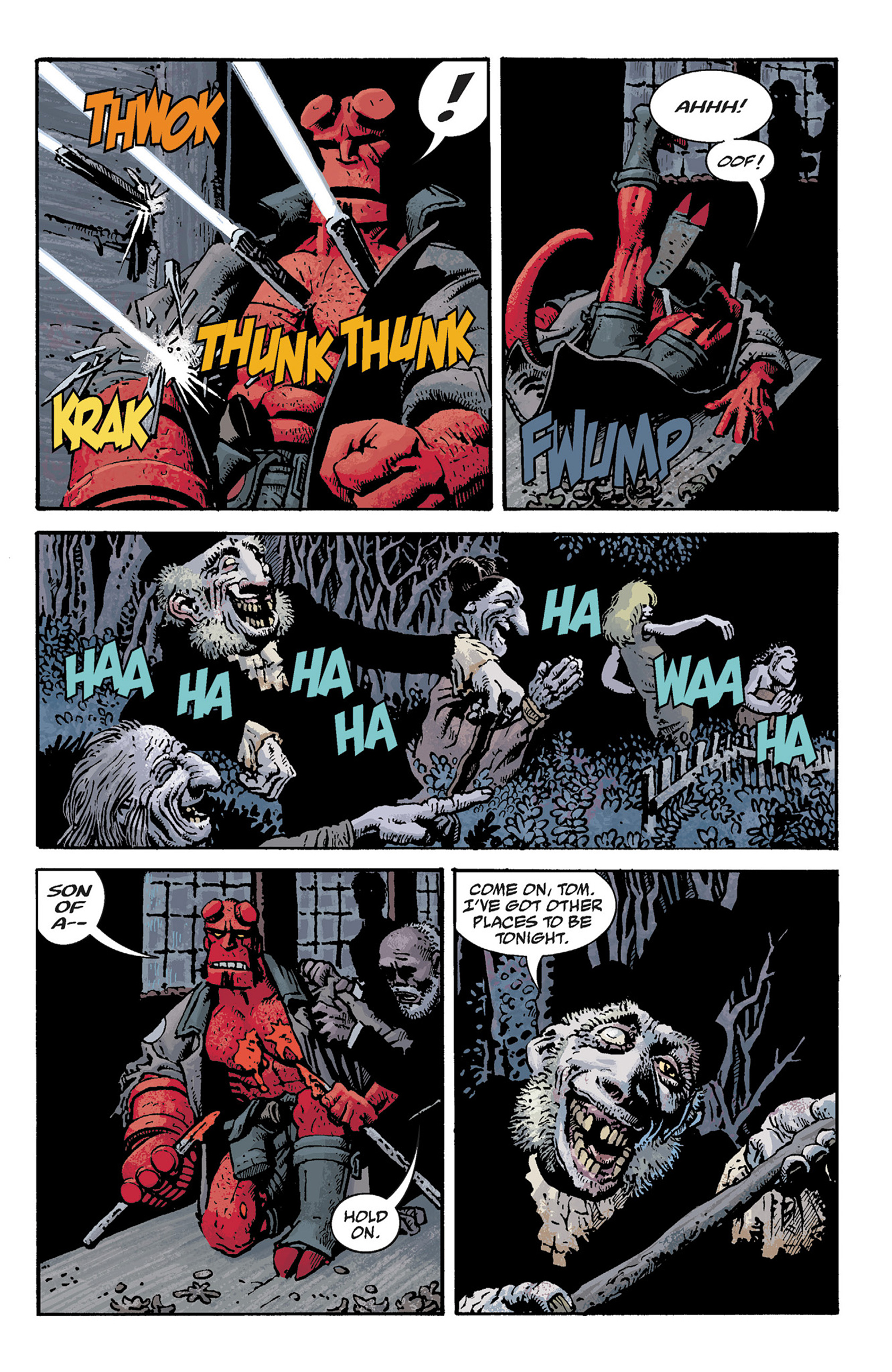 Read online Hellboy: The Crooked Man and Others comic -  Issue # TPB - 61