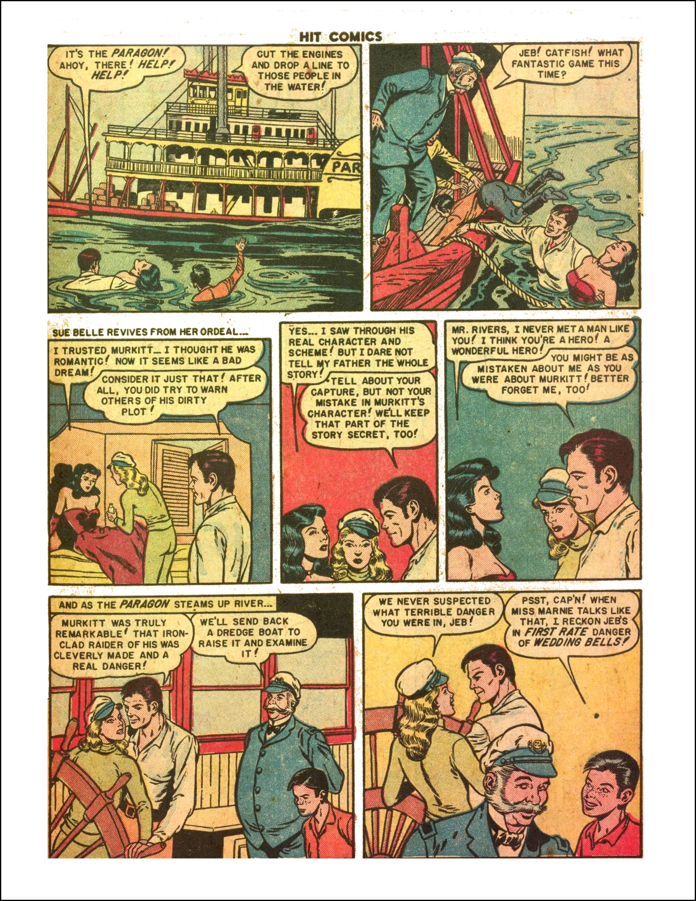 Read online Hit Comics comic -  Issue #65 - 15