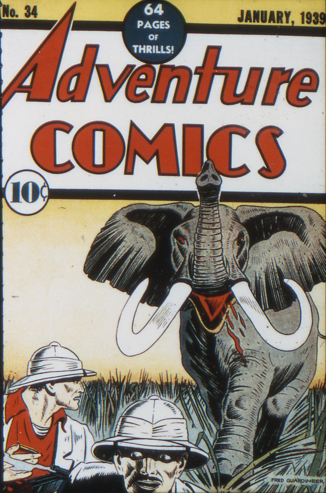 Adventure Comics (1938) 34 Page 1