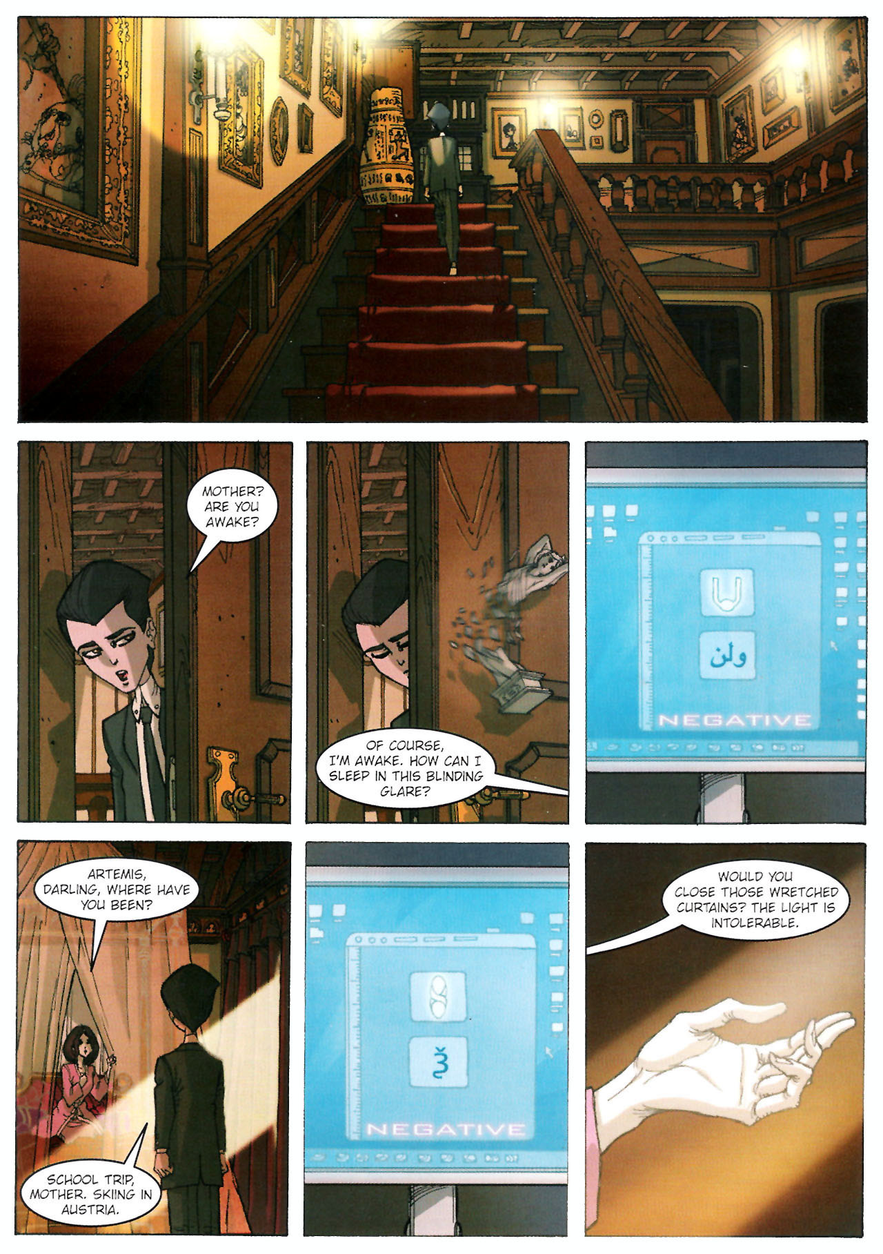 Read online Artemis Fowl comic -  Issue #Artemis Fowl TPB - 13