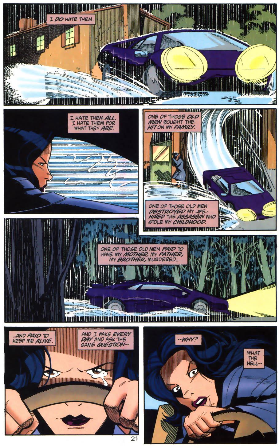 Read online Batman/Huntress: Cry for Blood comic -  Issue #1 - 21