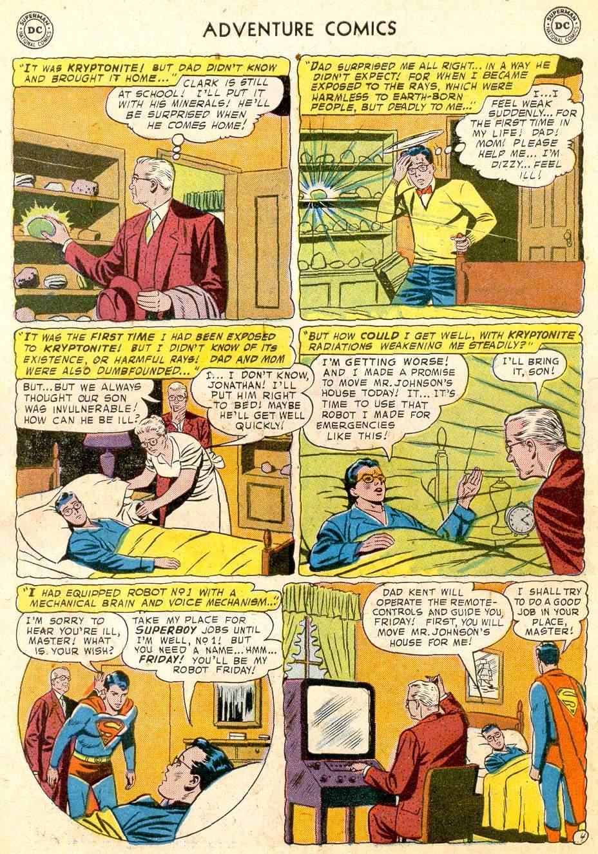 Read online Adventure Comics (1938) comic -  Issue #251 - 6