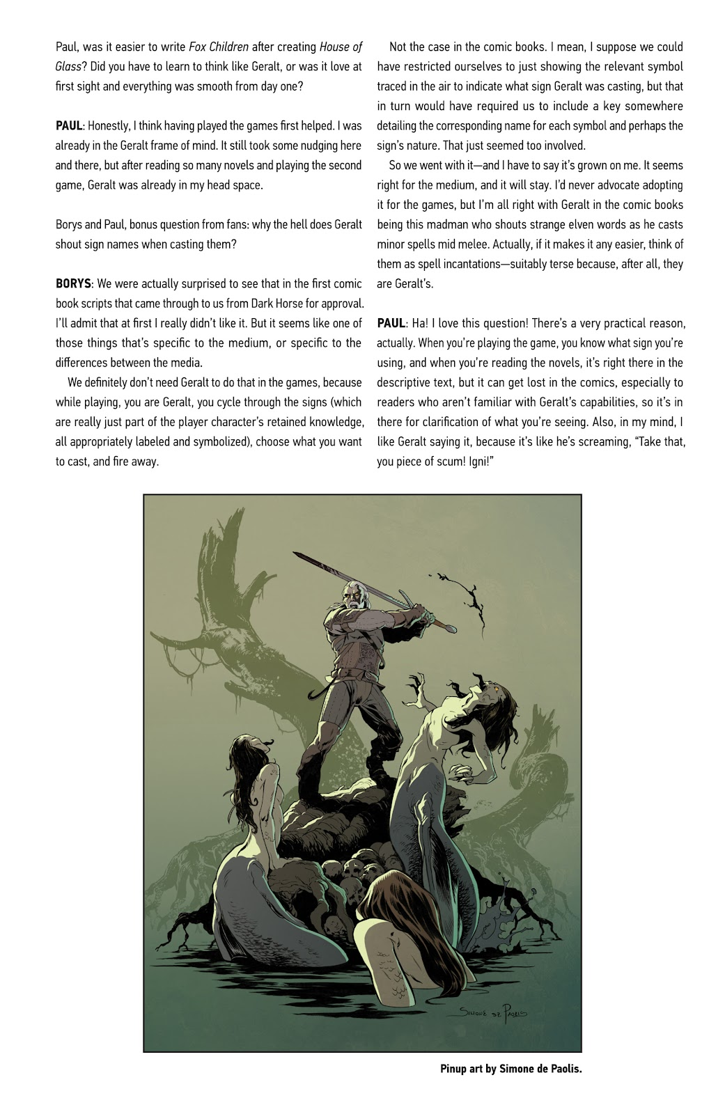Read online The Witcher Omnibus comic -  Issue # TPB (Part 5) - 30