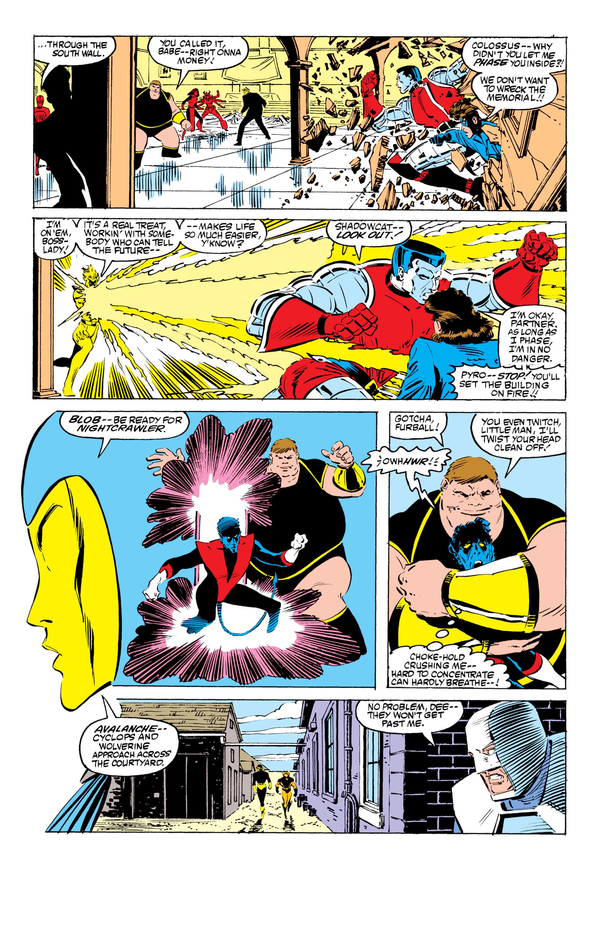 Read online Uncanny X-Men (1963) comic -  Issue #199 - 18